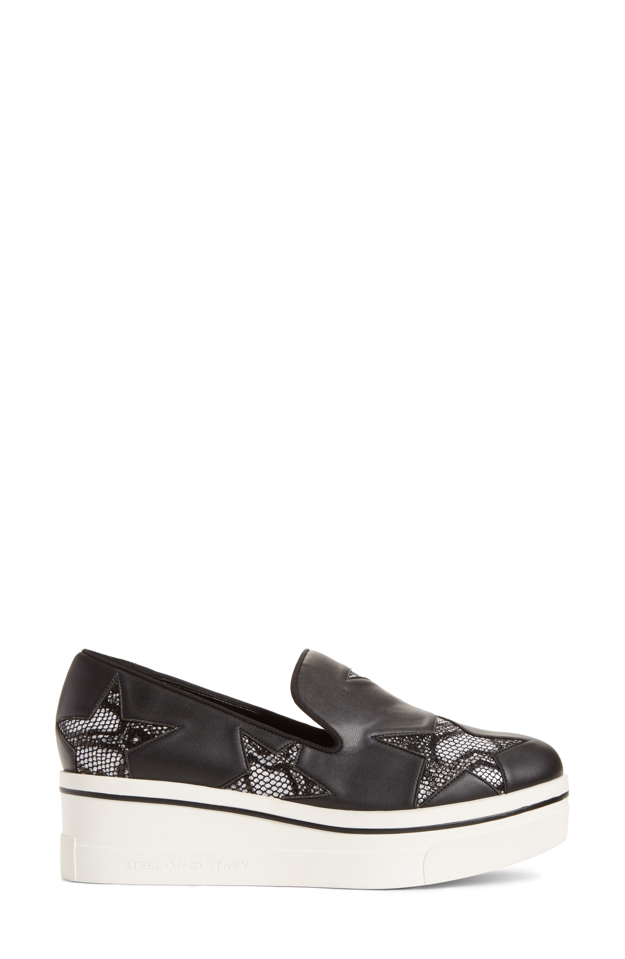 Alternate Image 3  - Stella McCartney Binx Stars Platform Sneaker (Women)