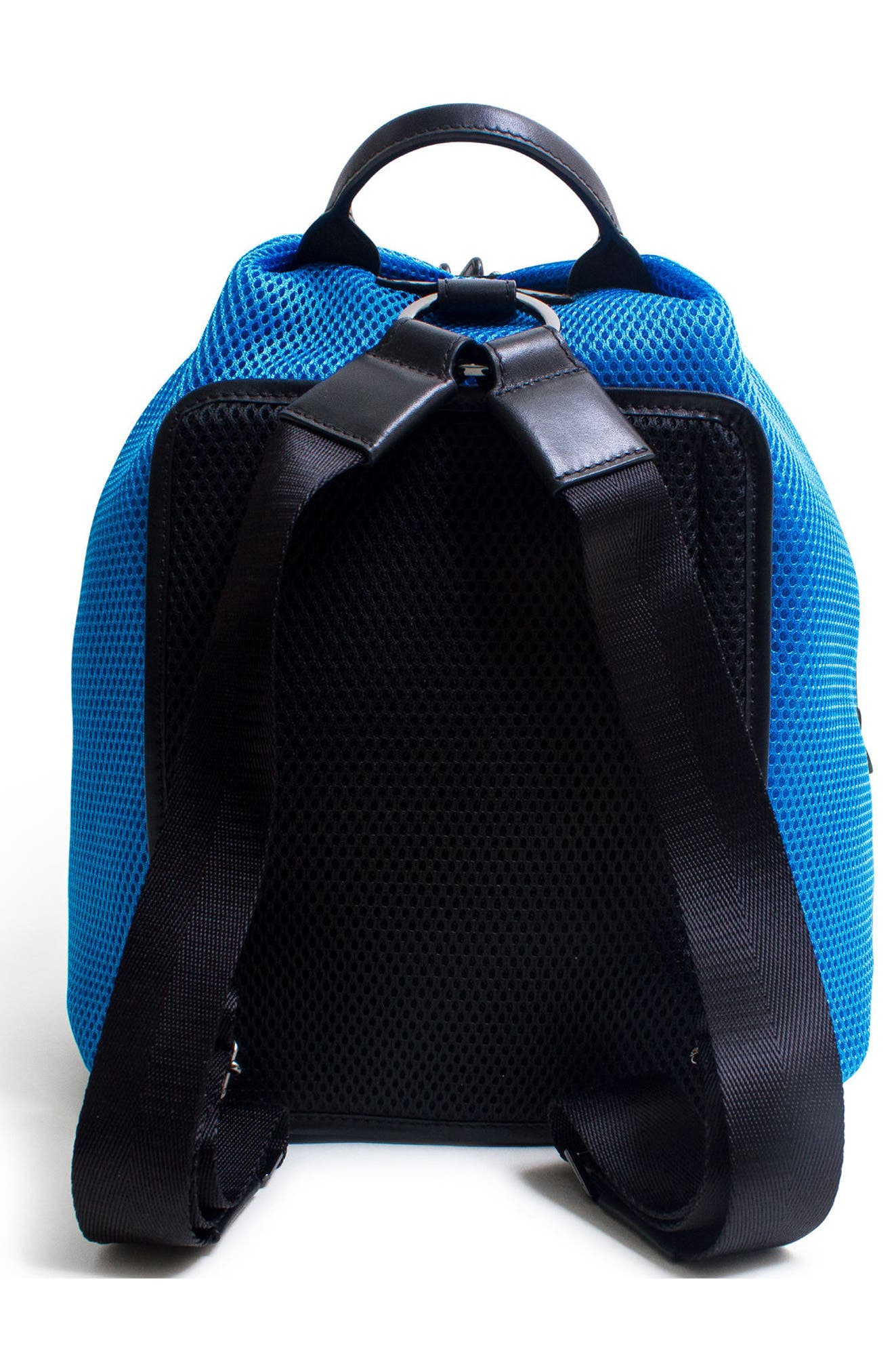 Alternate Image 2  - Caraa Dance 2 Mesh with Leather Trim Backpack