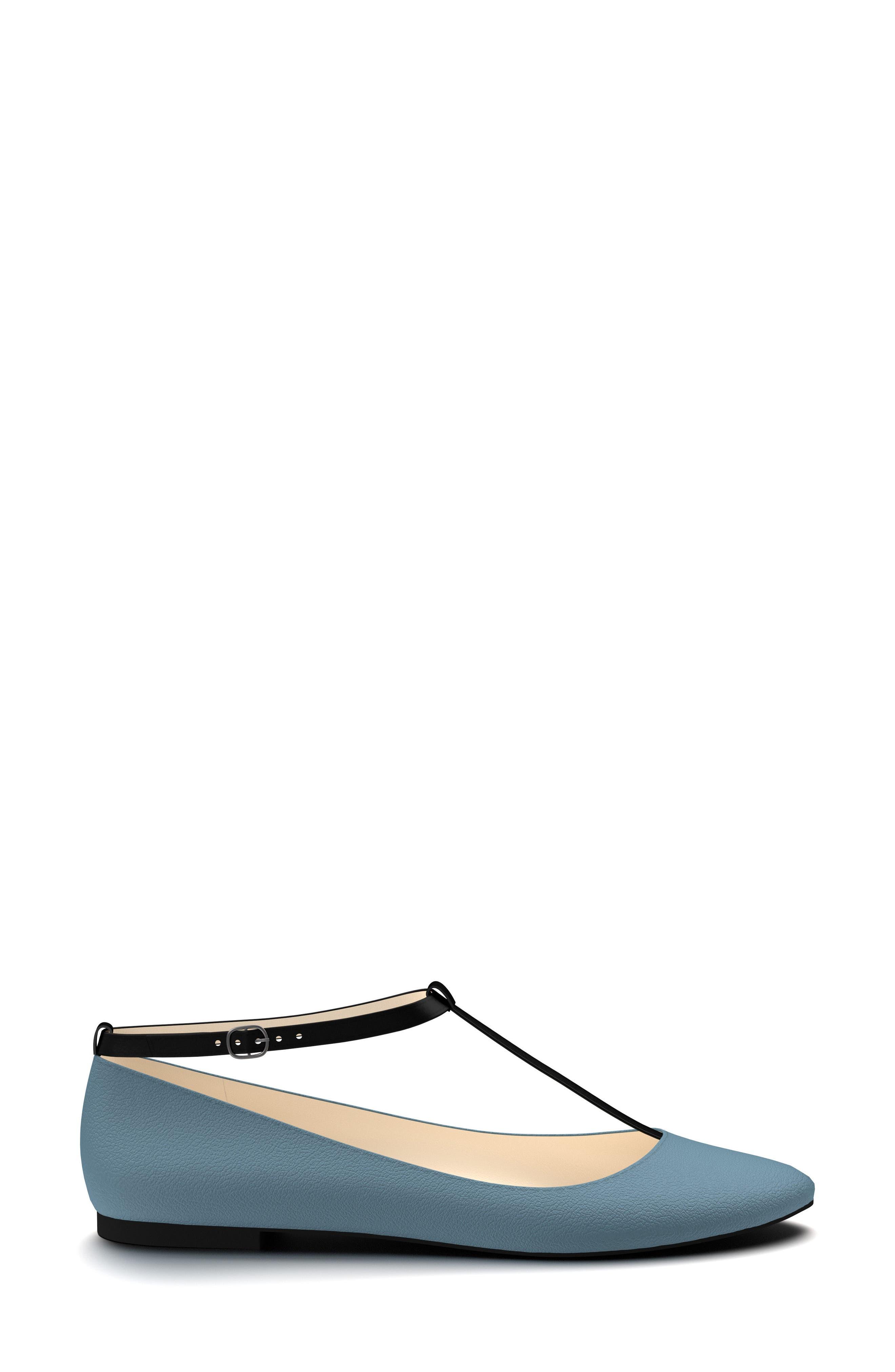 Alternate Image 2  - Shoes of Prey T-Strap Ballet Flat (Women)