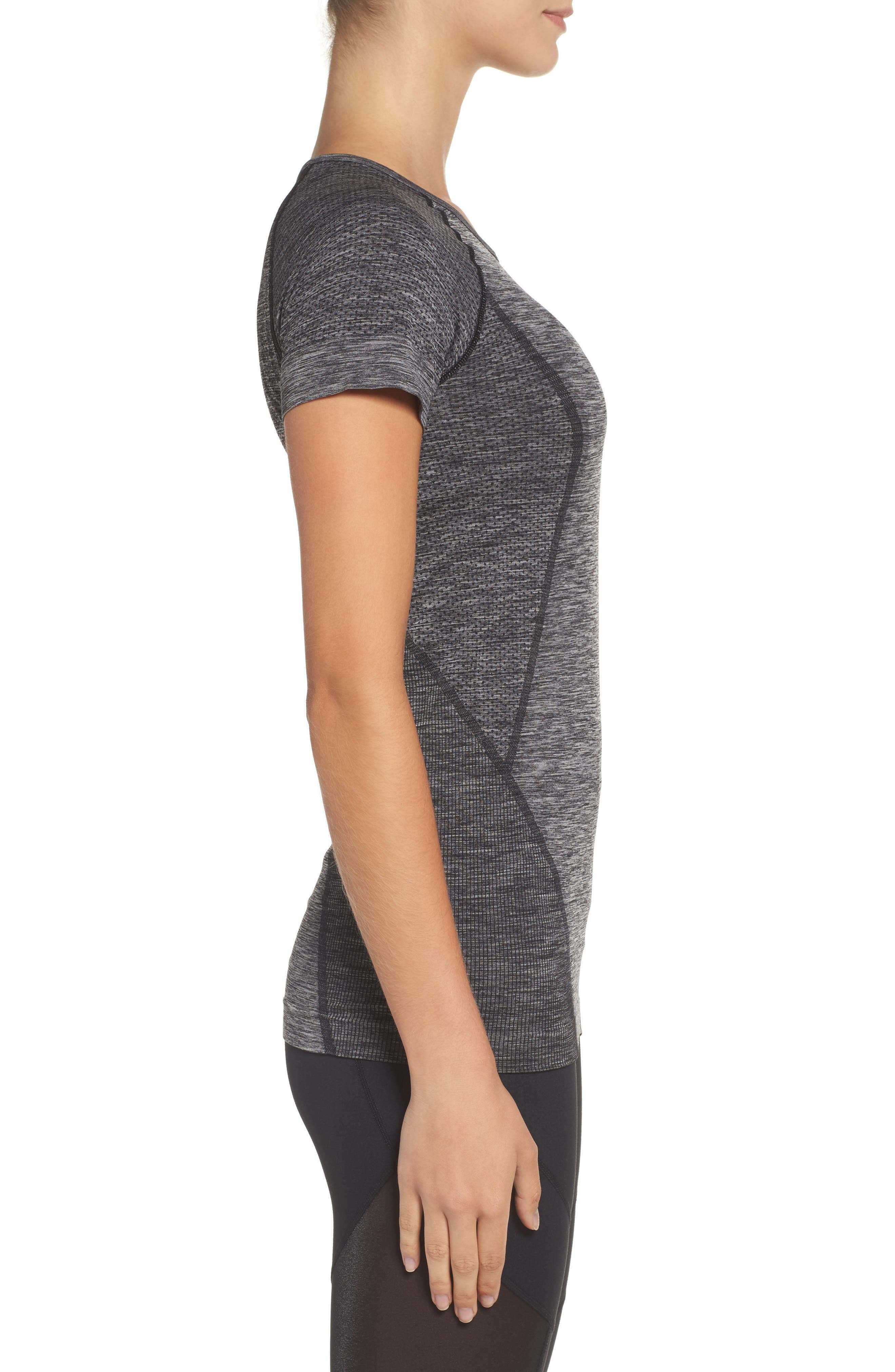 Alternate Image 3  - Zella Stand Out Seamless Training Tee