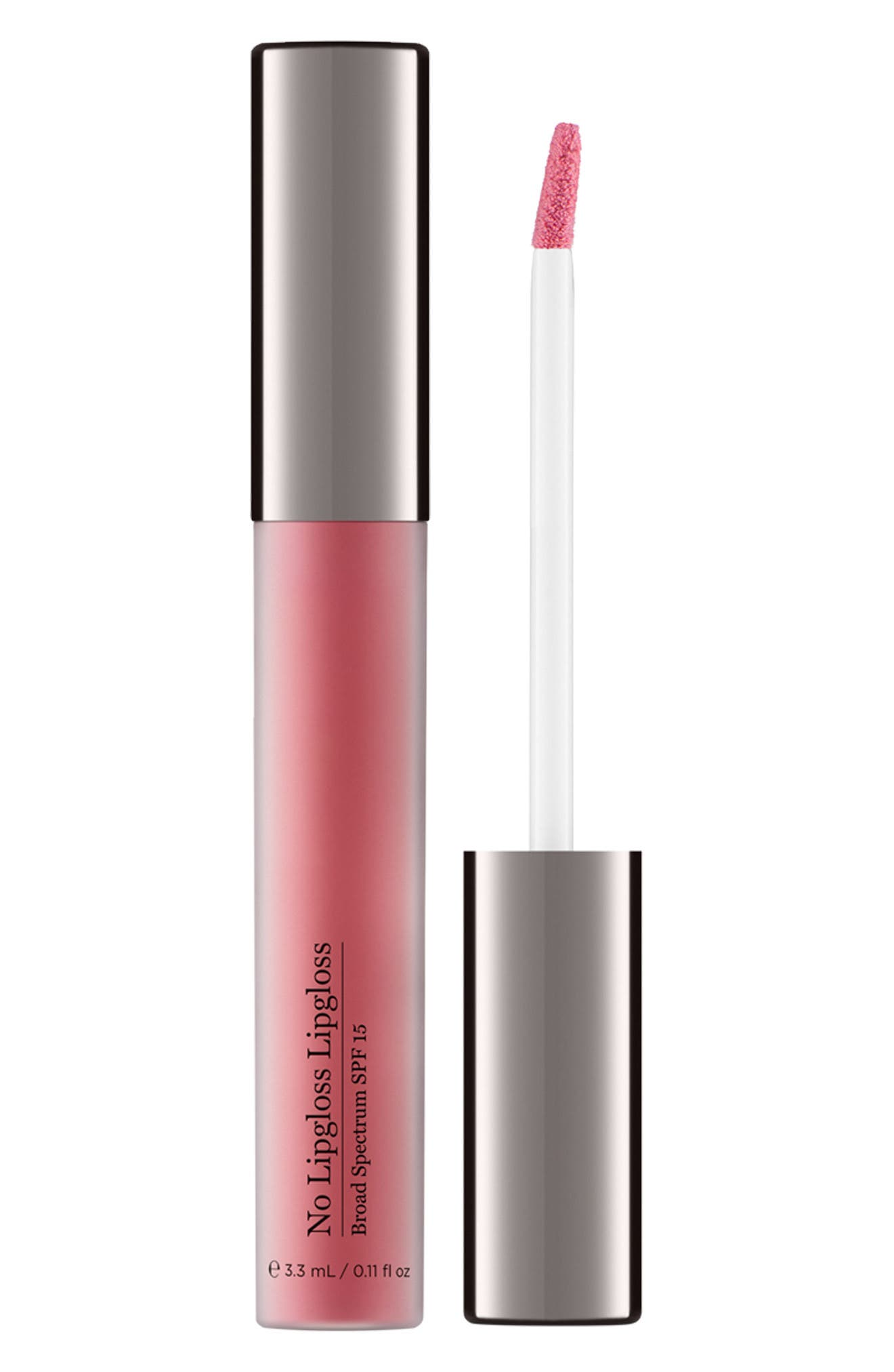 No Lipgloss Lipgloss Broad Spectrum SPF 15,                             Alternate thumbnail 2, color,                             No Color