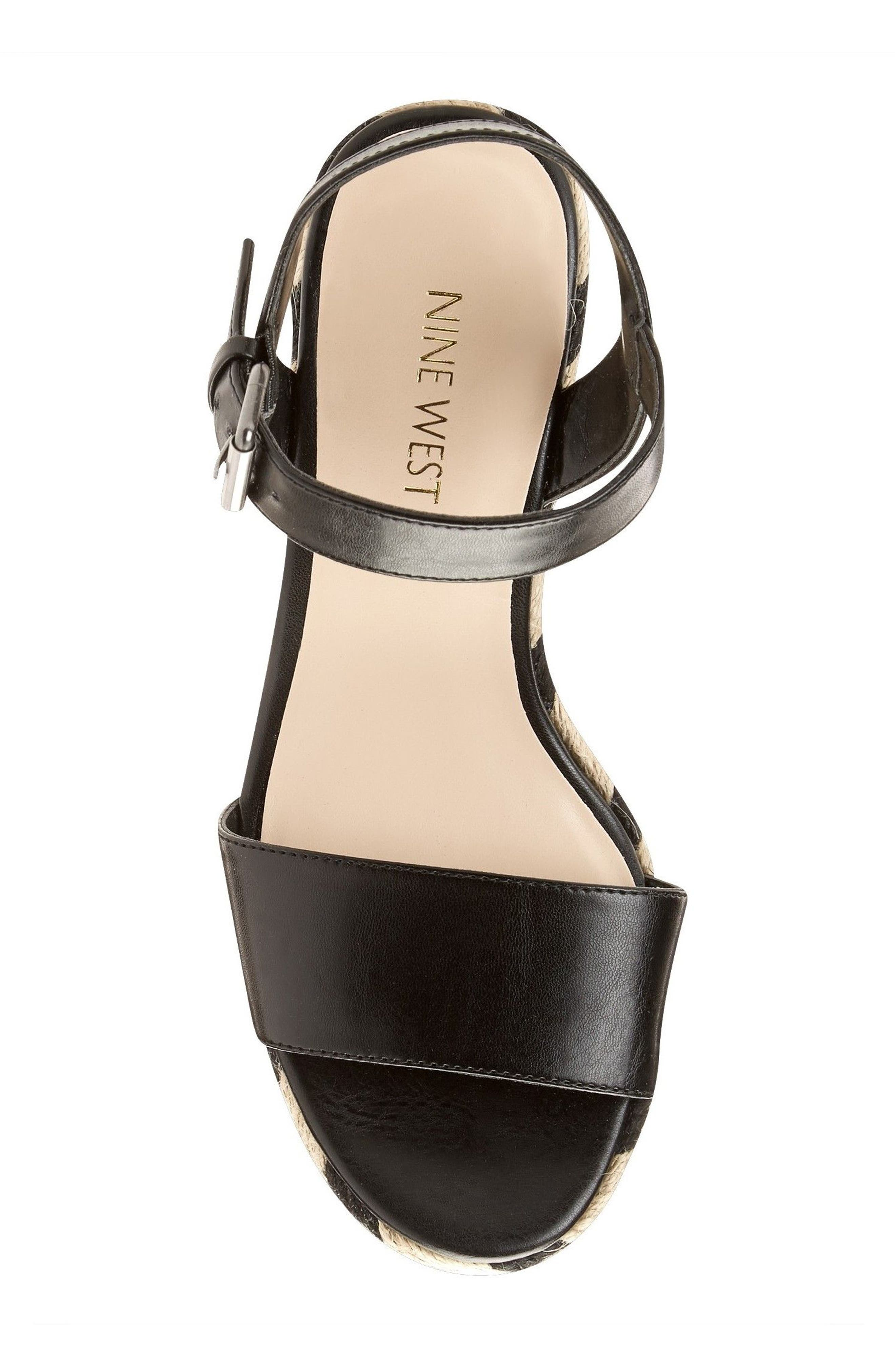 Alternate Image 4  - Nine West Do It Right Platform Wedge Sandal (Women)