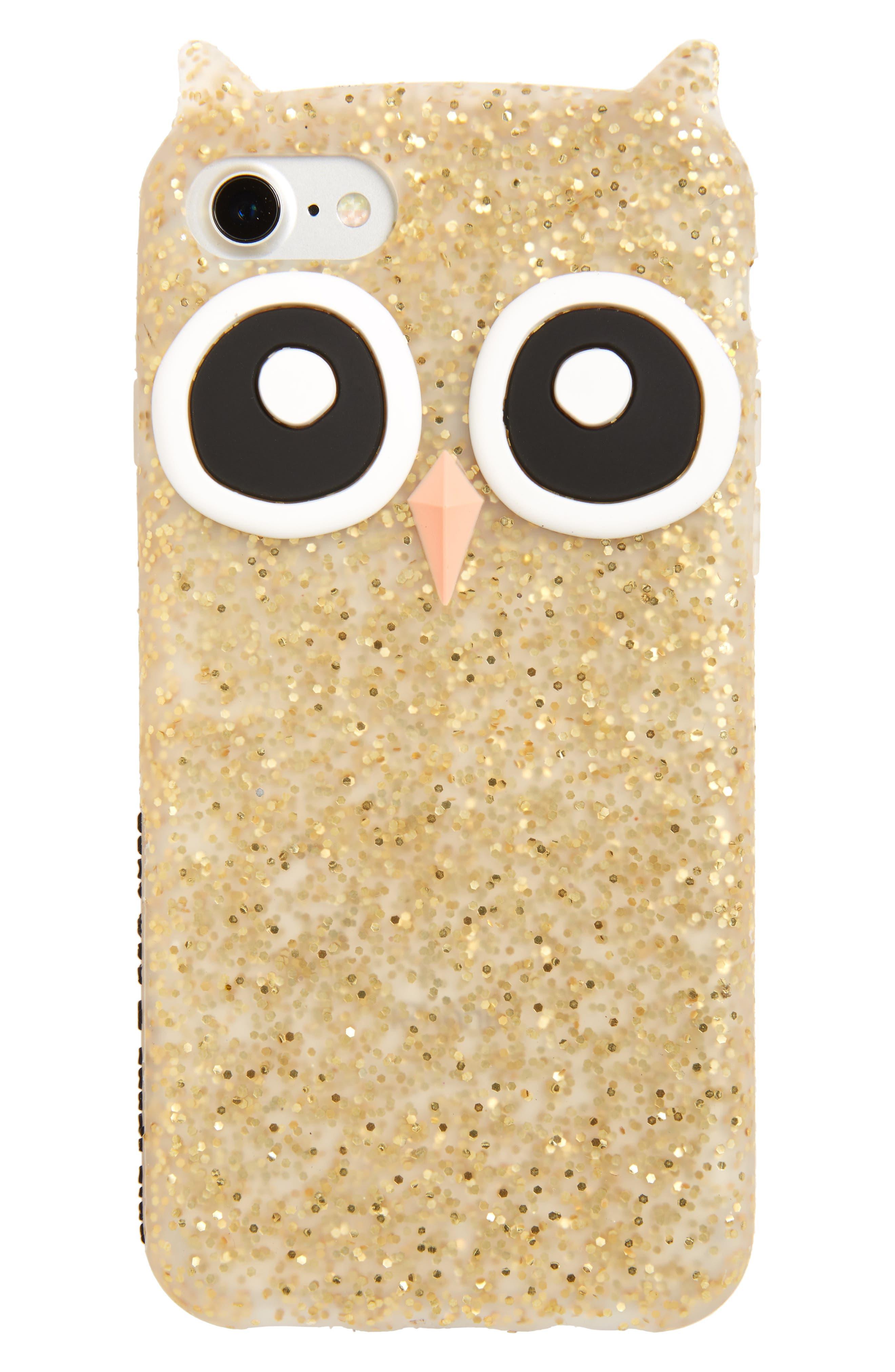 kate spade new york owl iPhone 7 case