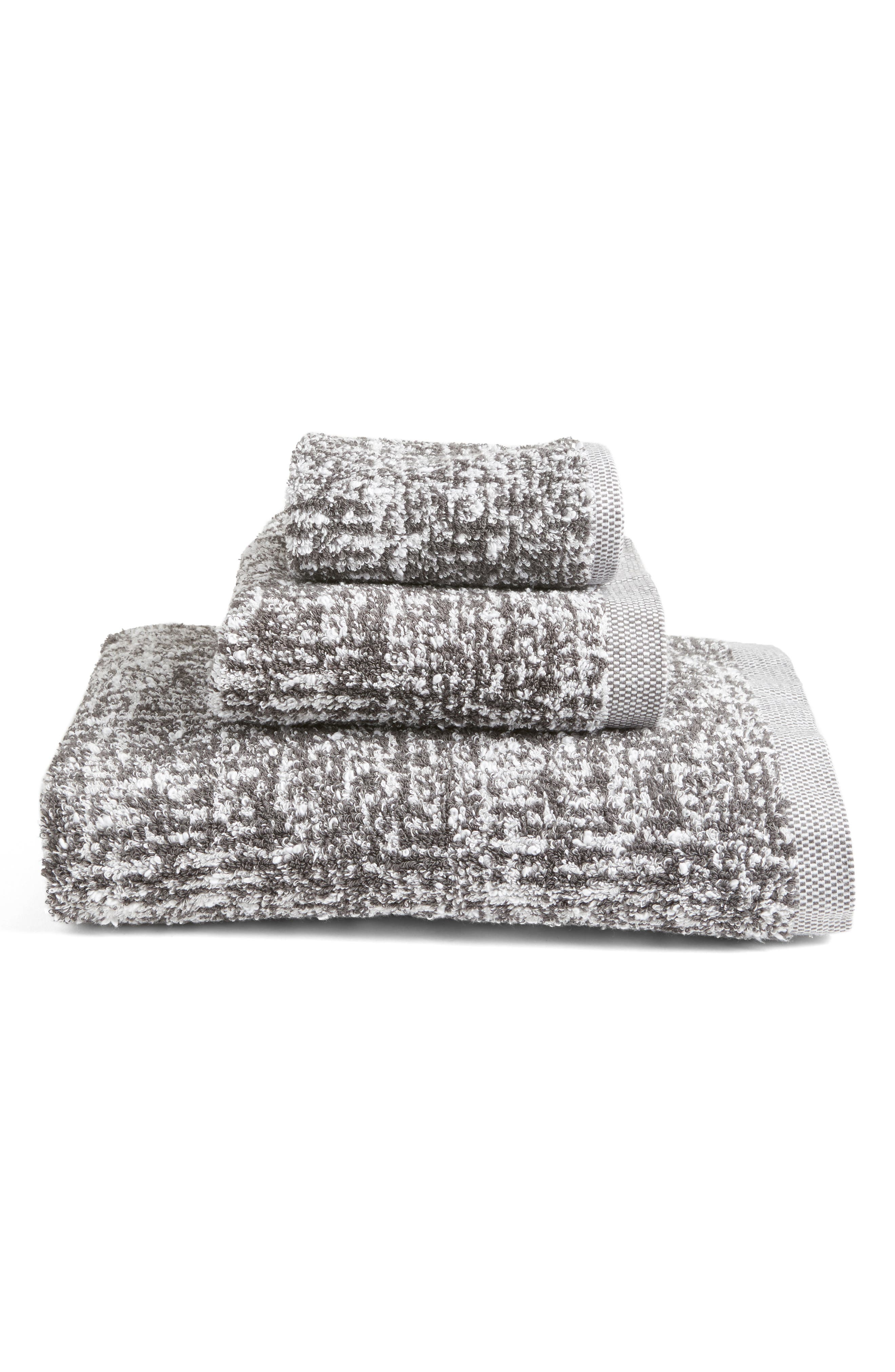 Alternate Image 3  - Nordstrom at Home Tweed Jacquard Washcloth (2 for $17)