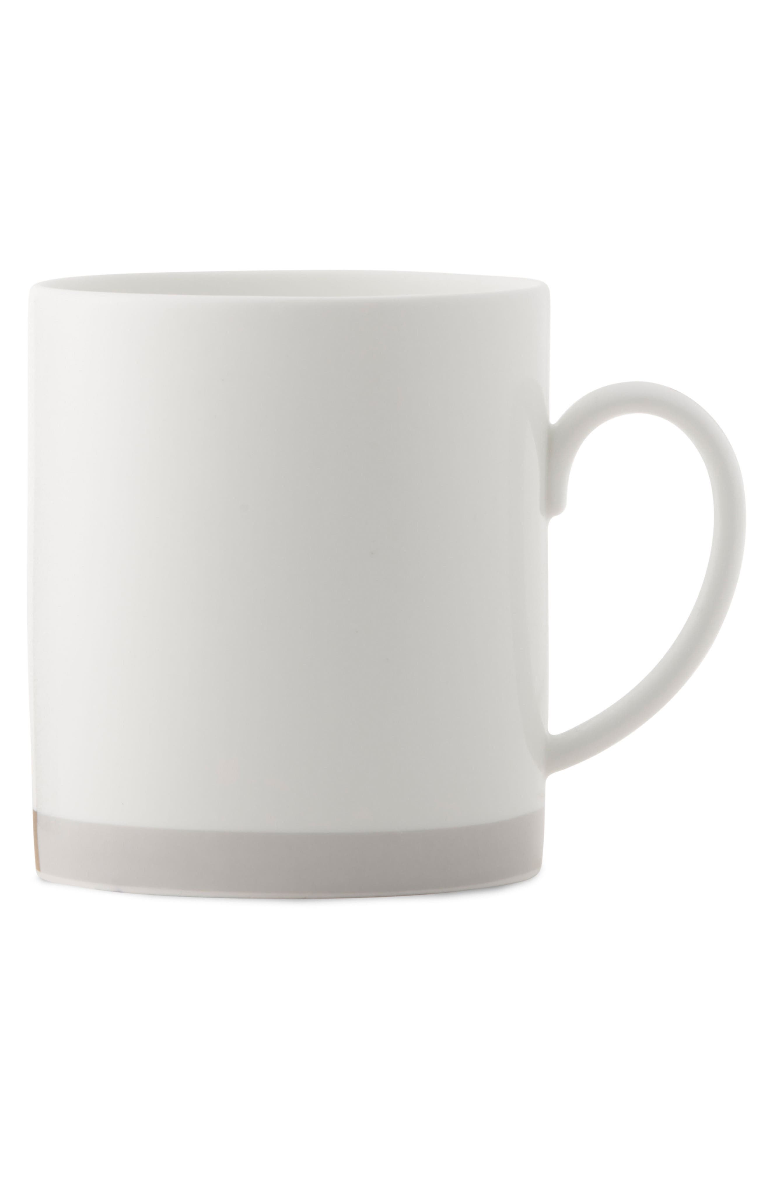 x Wedgewood Castillon Mug,                         Main,                         color, White