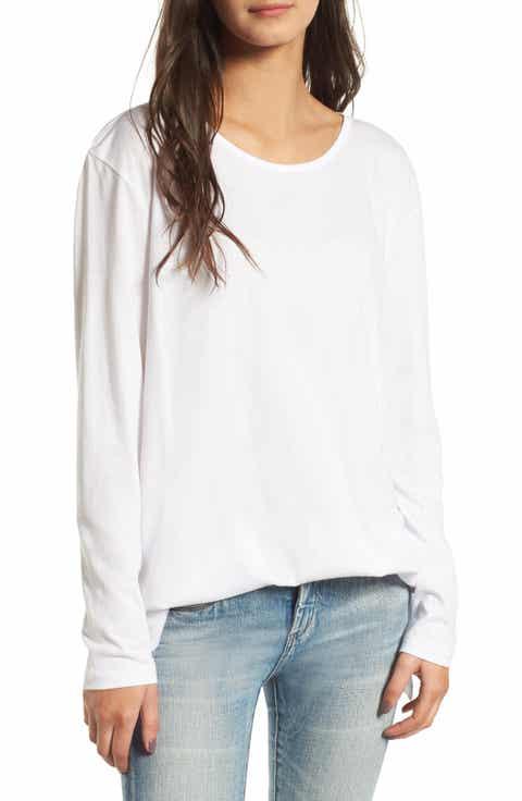 Women's White Tops & Tees | Nordstrom
