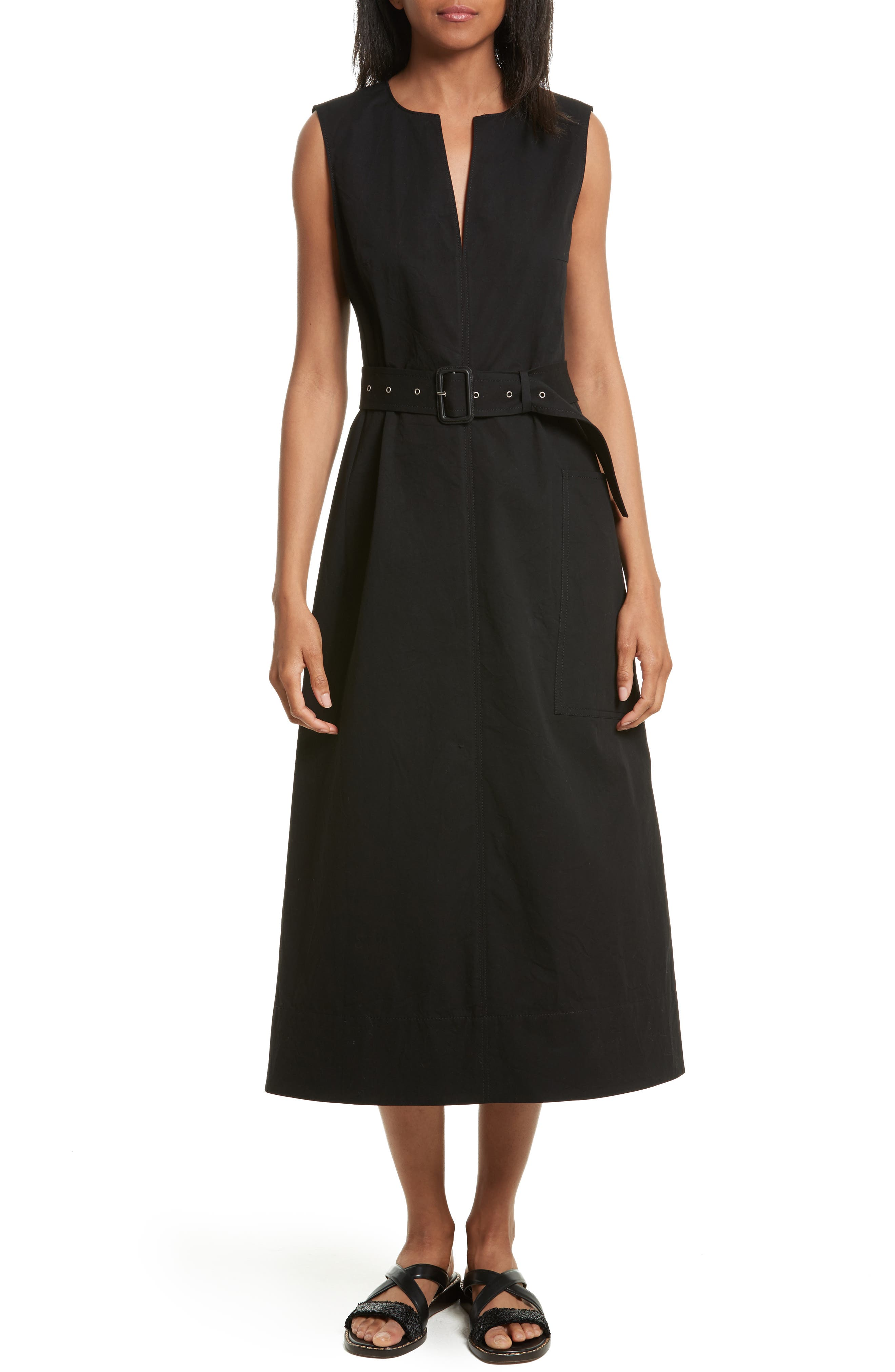 joseph teddy belted a line dress nordstrom