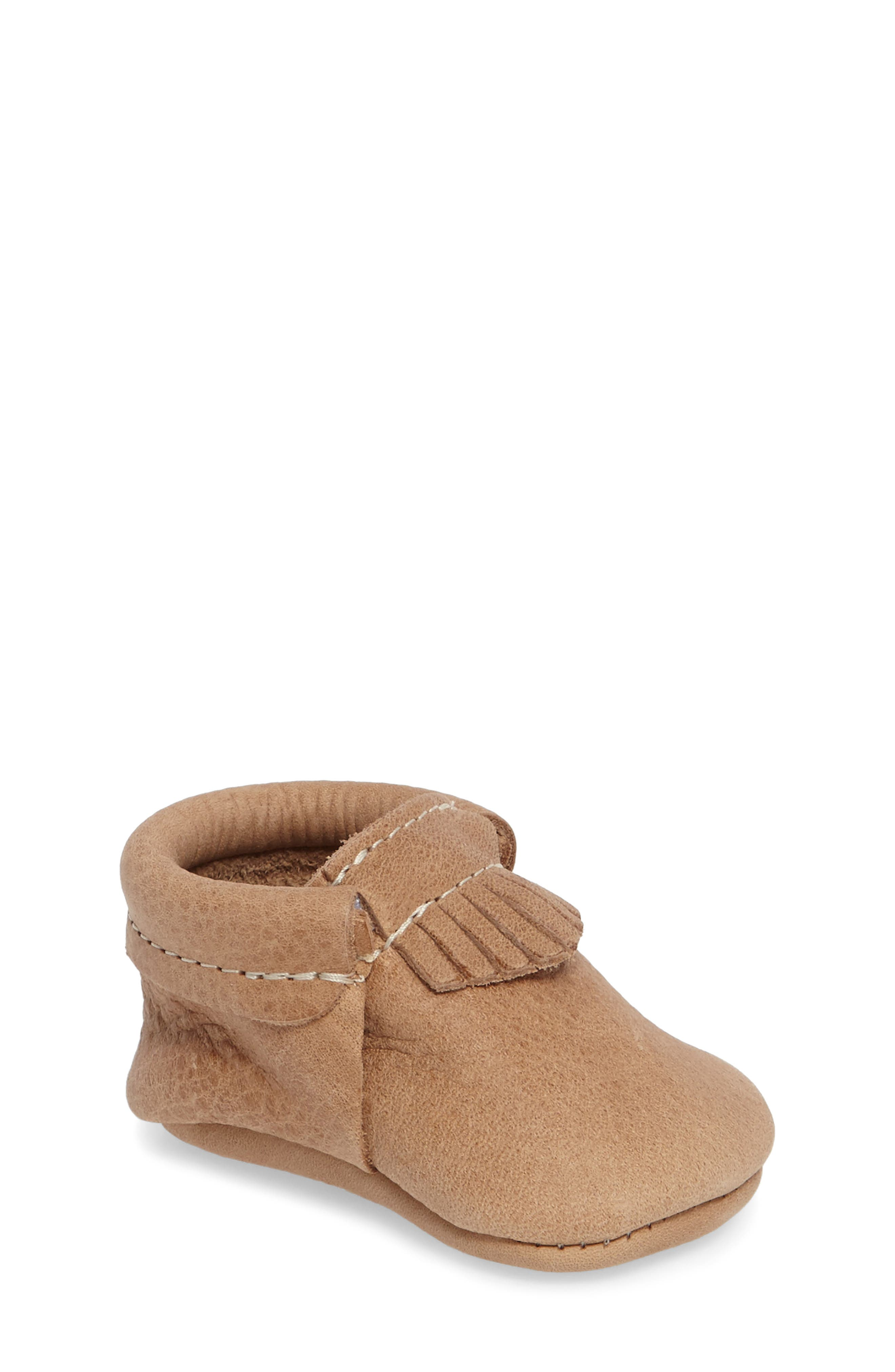 City Moccasin,                             Main thumbnail 1, color,                             Weathered Brown