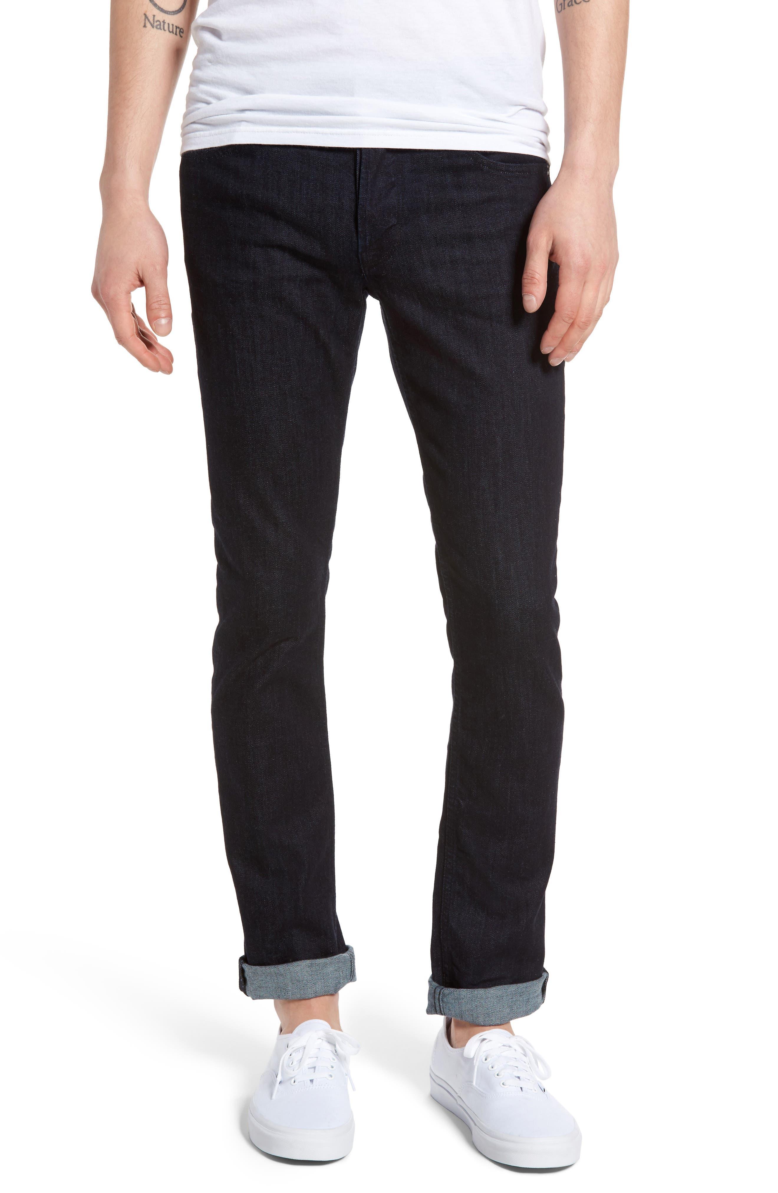 Alternate Image 1 Selected - Hudson Jeans Axl Skinny Fit Jeans (Firestone)