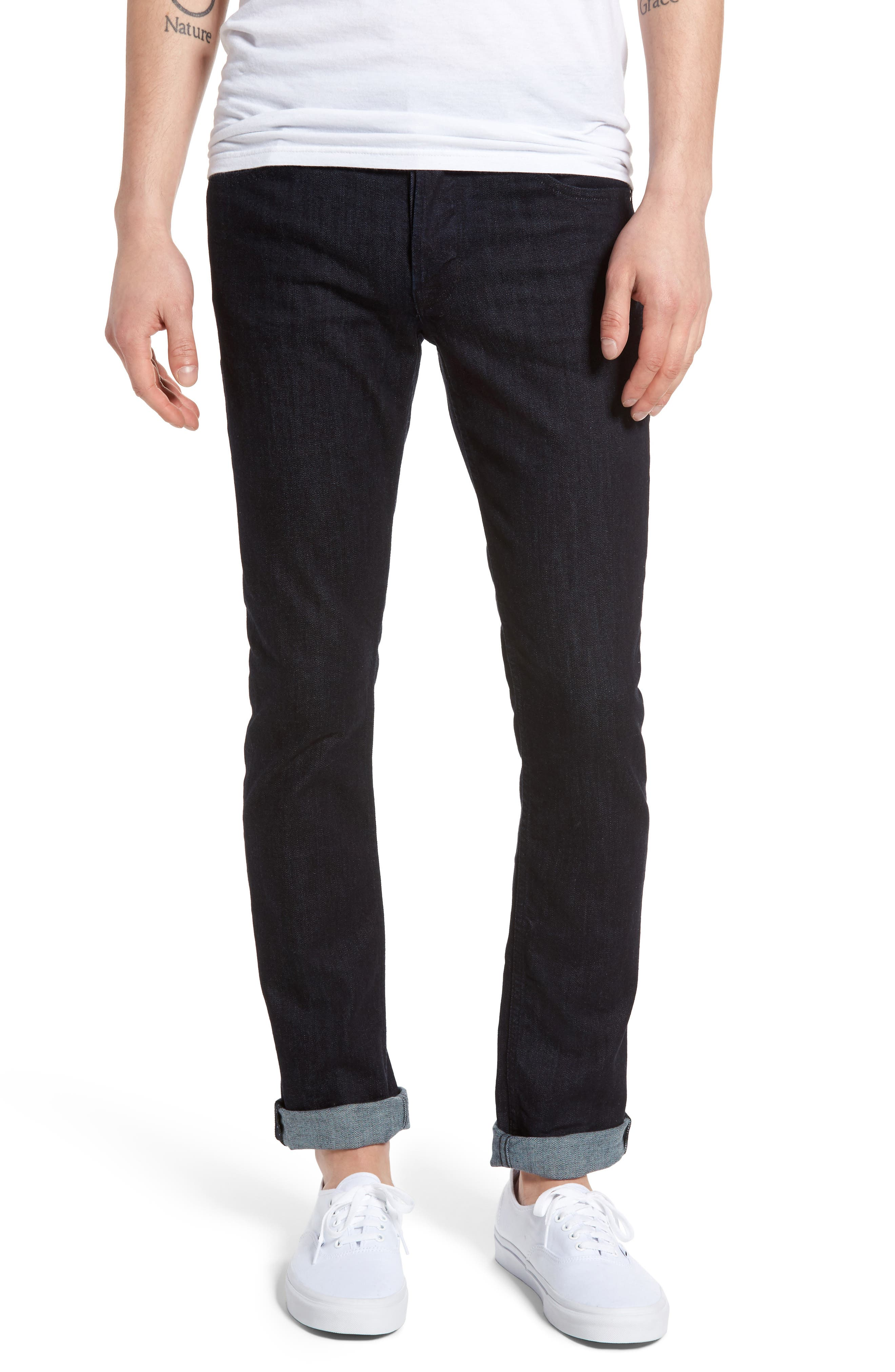 Axl Skinny Fit Jeans,                         Main,                         color, Firestone