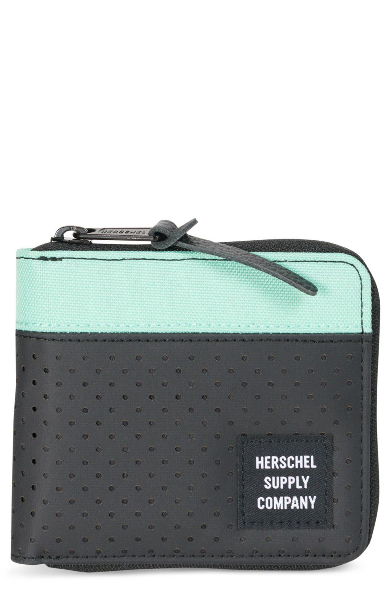 Herschel Supply Co. Walt RFID Zip Wallet