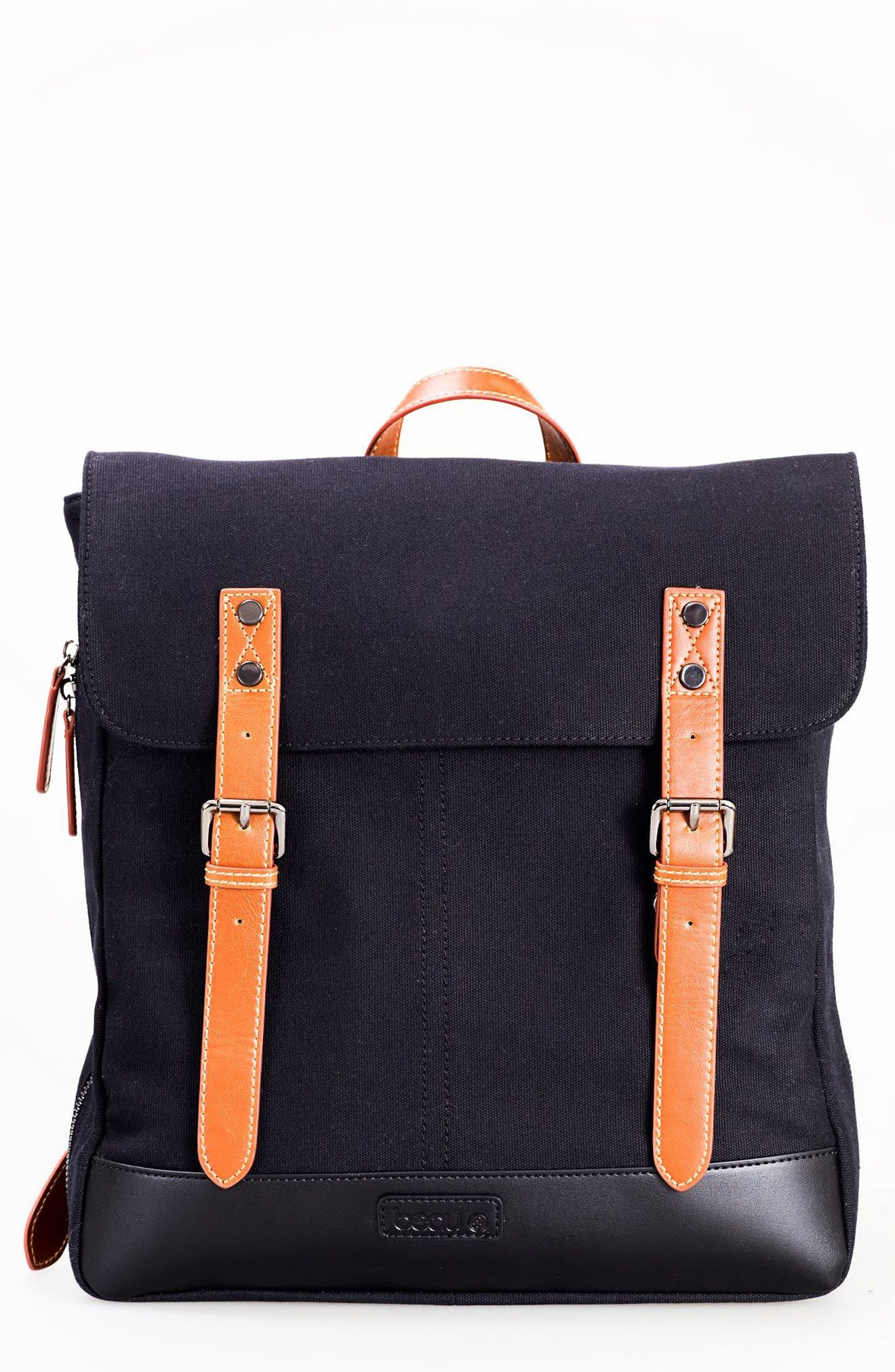 Joel Diaper Backpack,                         Main,                         color, Black