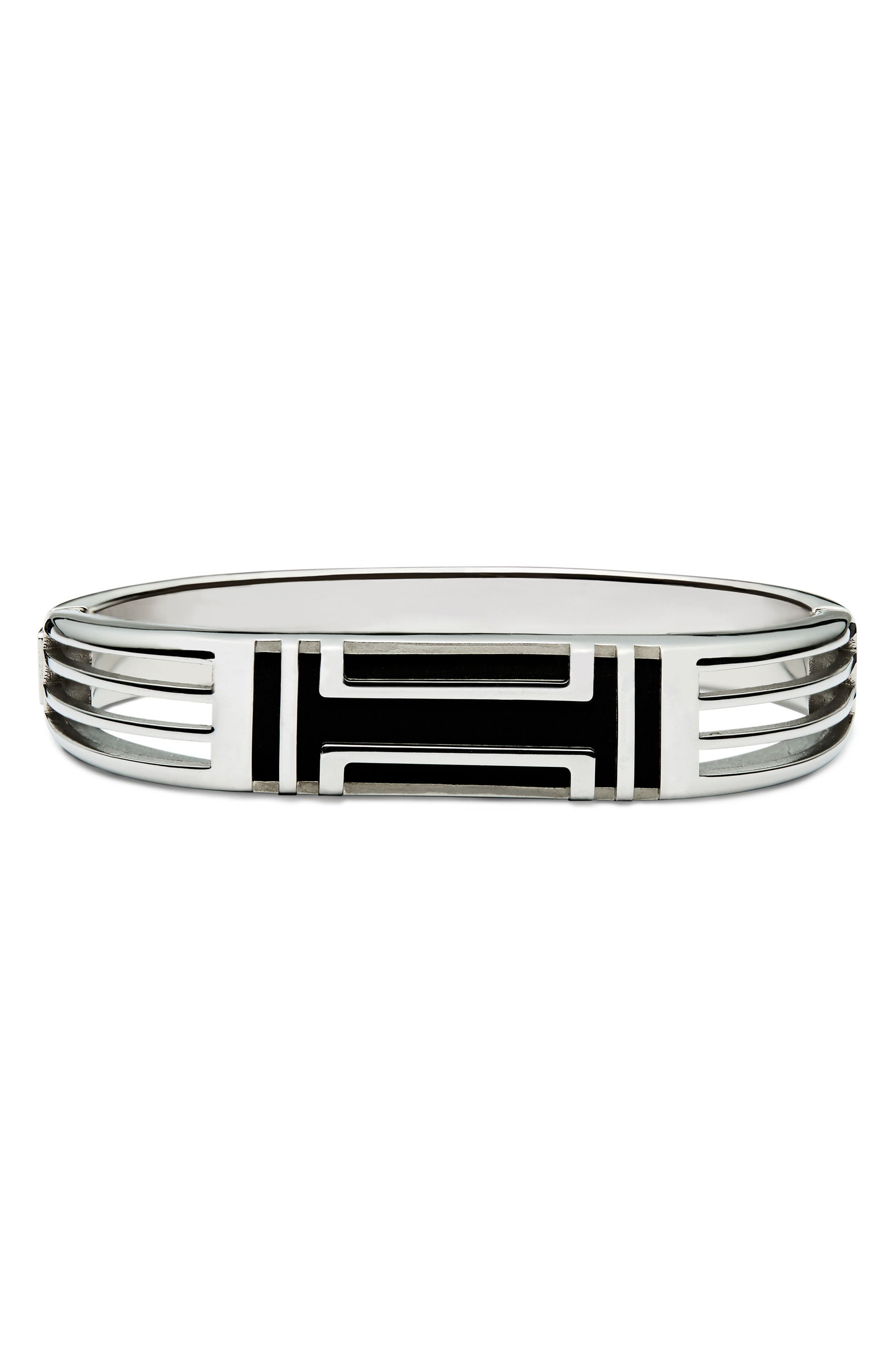 for Fitbit<sup>®</sup> Hinge Bracelet,                             Alternate thumbnail 4, color,                             Tory Silver