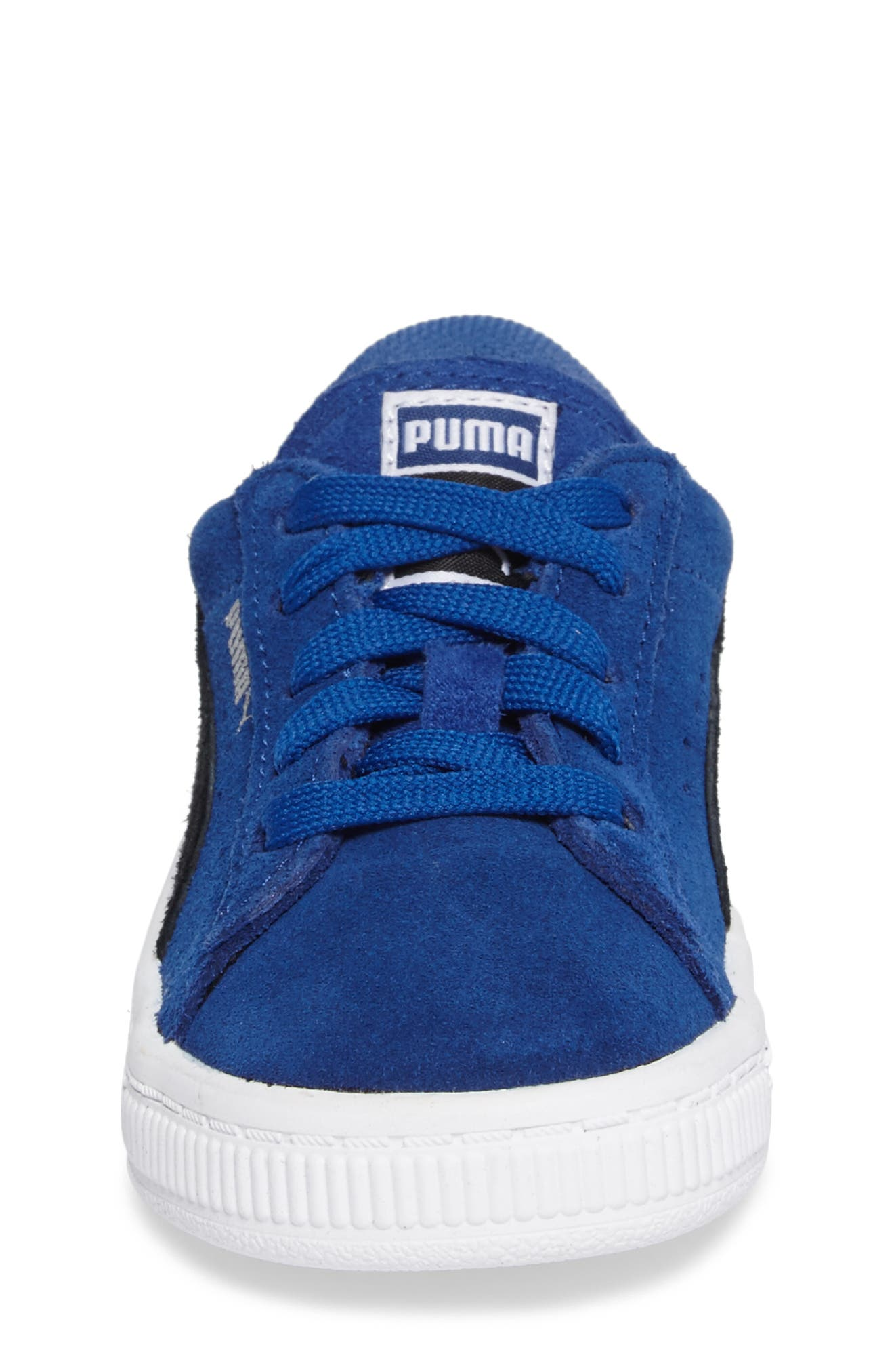 Alternate Image 4  - PUMA 'Suede' Sneaker (Baby, Walker, Toddler, Little Kid & Big Kid)