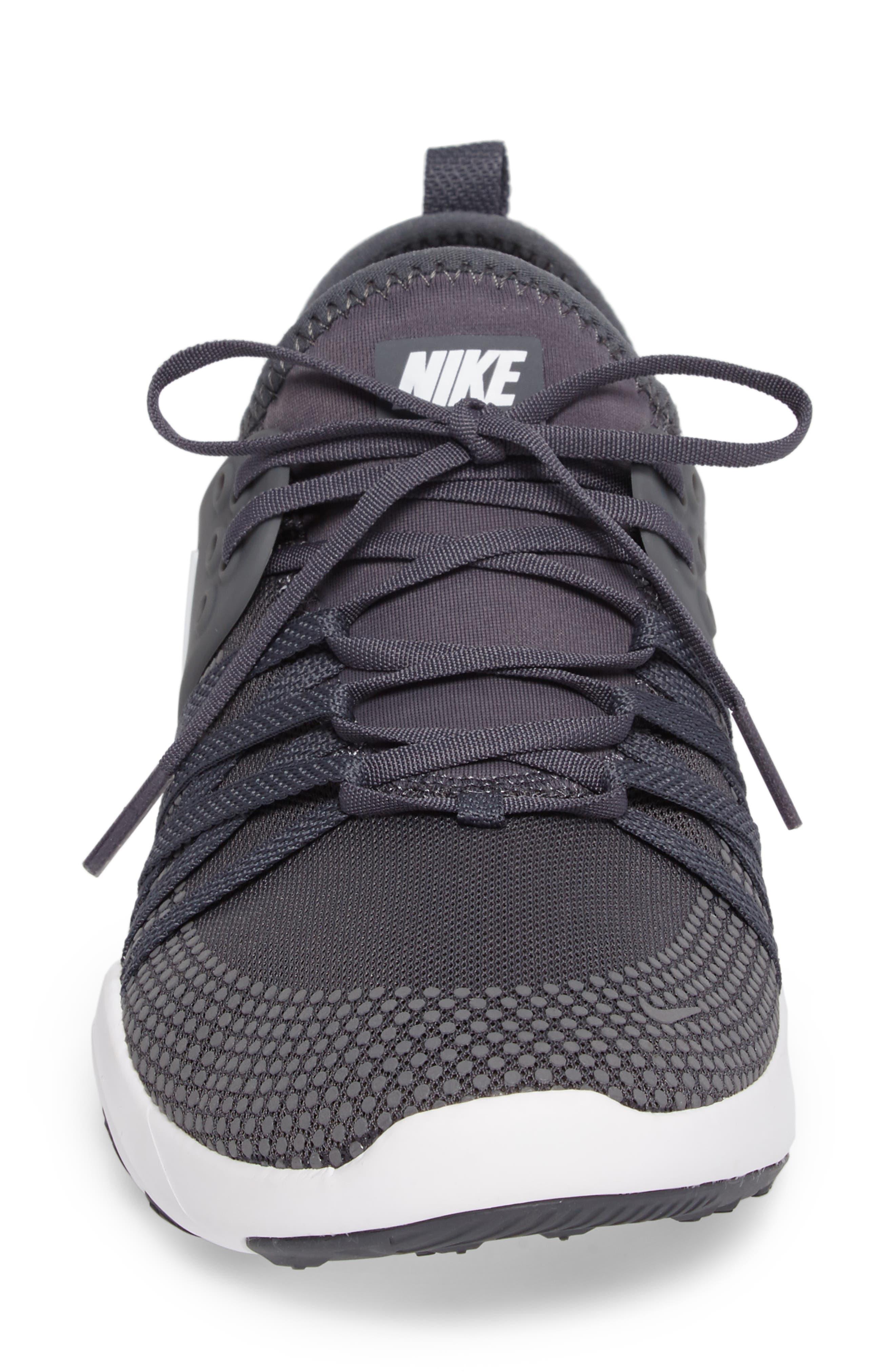 Free TR 7 Training Shoe,                             Alternate thumbnail 4, color,                             Dark Grey/ White