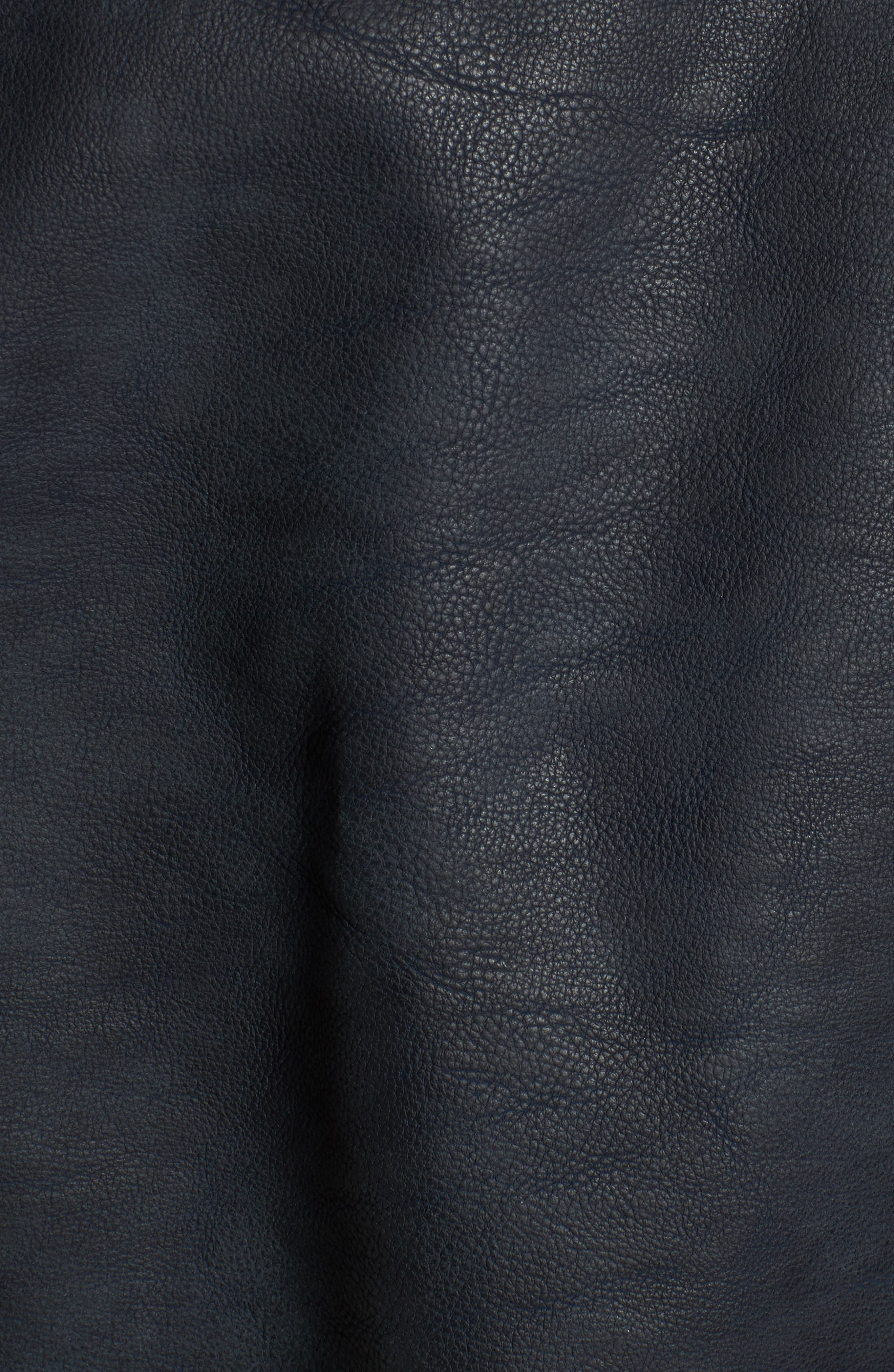 Alternate Image 5  - Levi's® Faux Leather Trucker Jacket