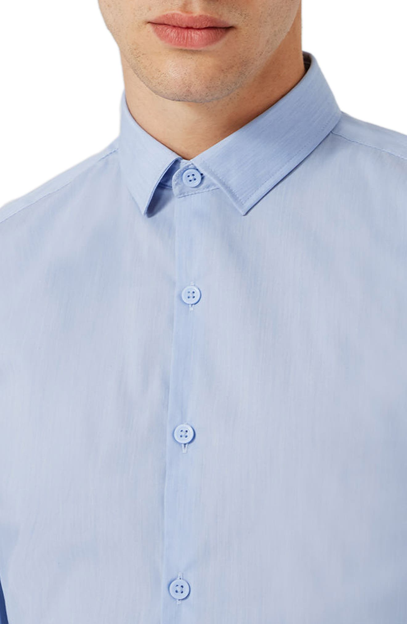 Alternate Image 3  - Topman Muscle Fit Shirt
