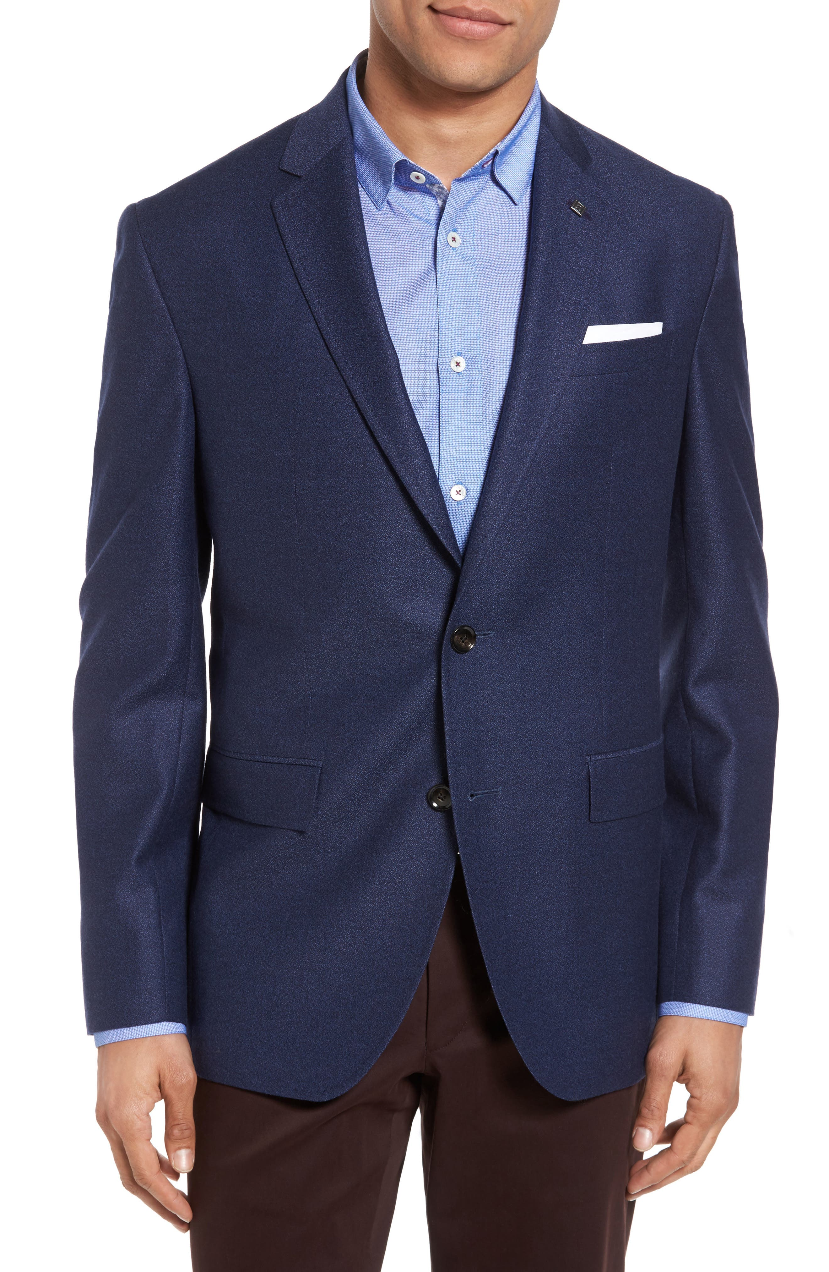 Ted Baker London Konan Trim Fit Wool Blazer