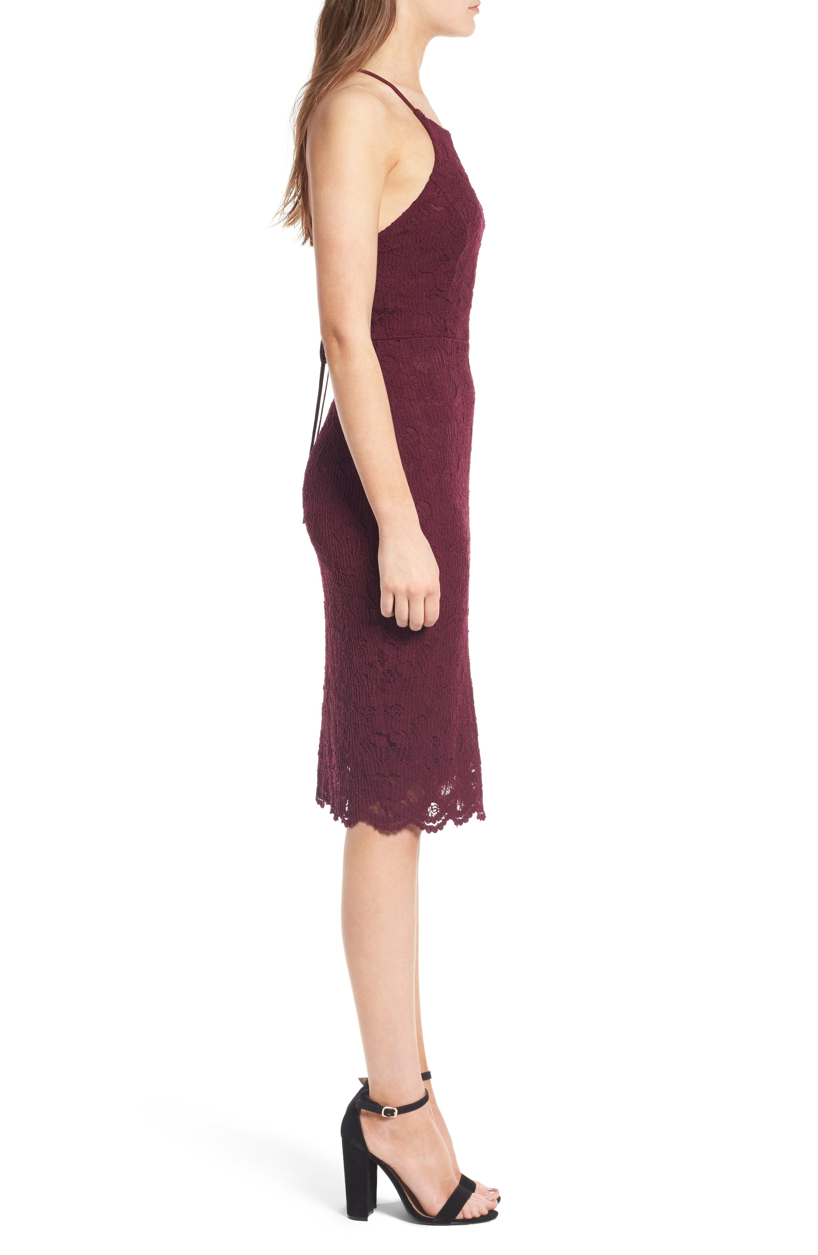Alternate Image 3  - Soprano Lace Body-Con Dress