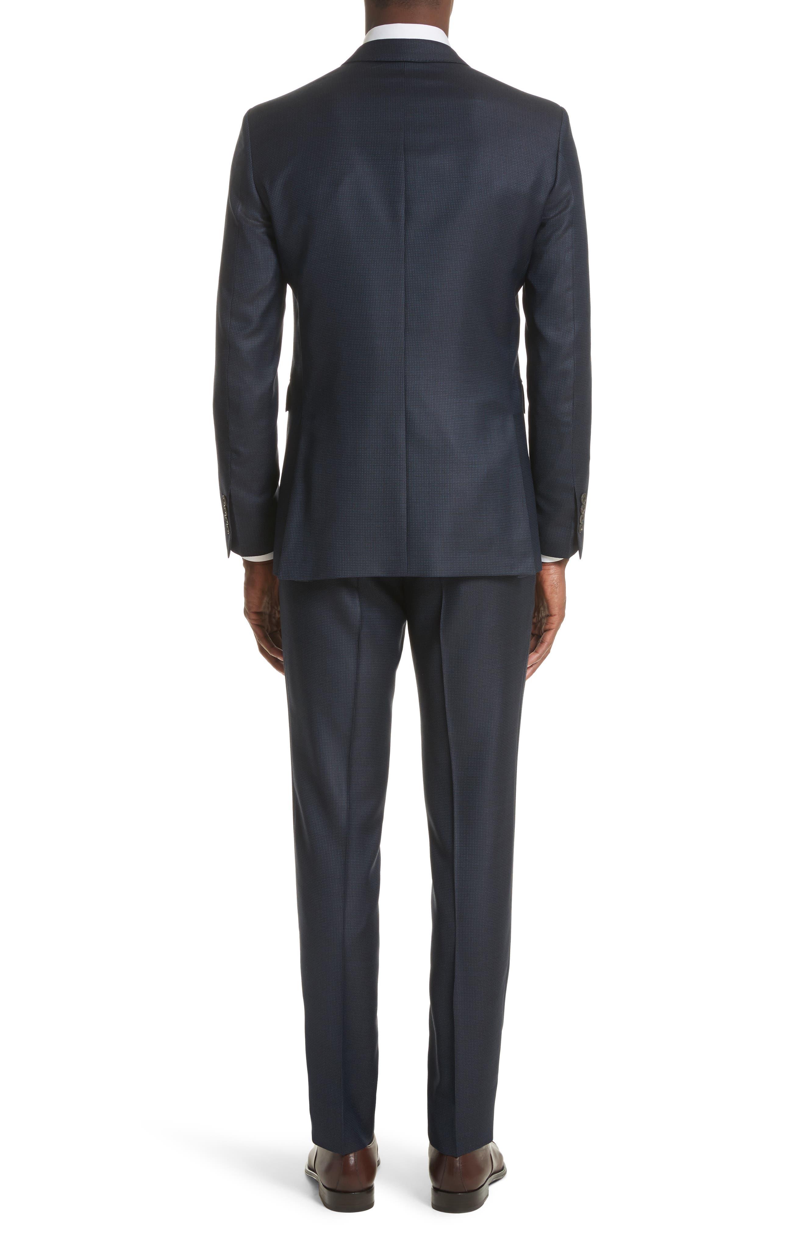 Alternate Image 2  - Burberry Millbank Trim Fit Wool & Silk Suit