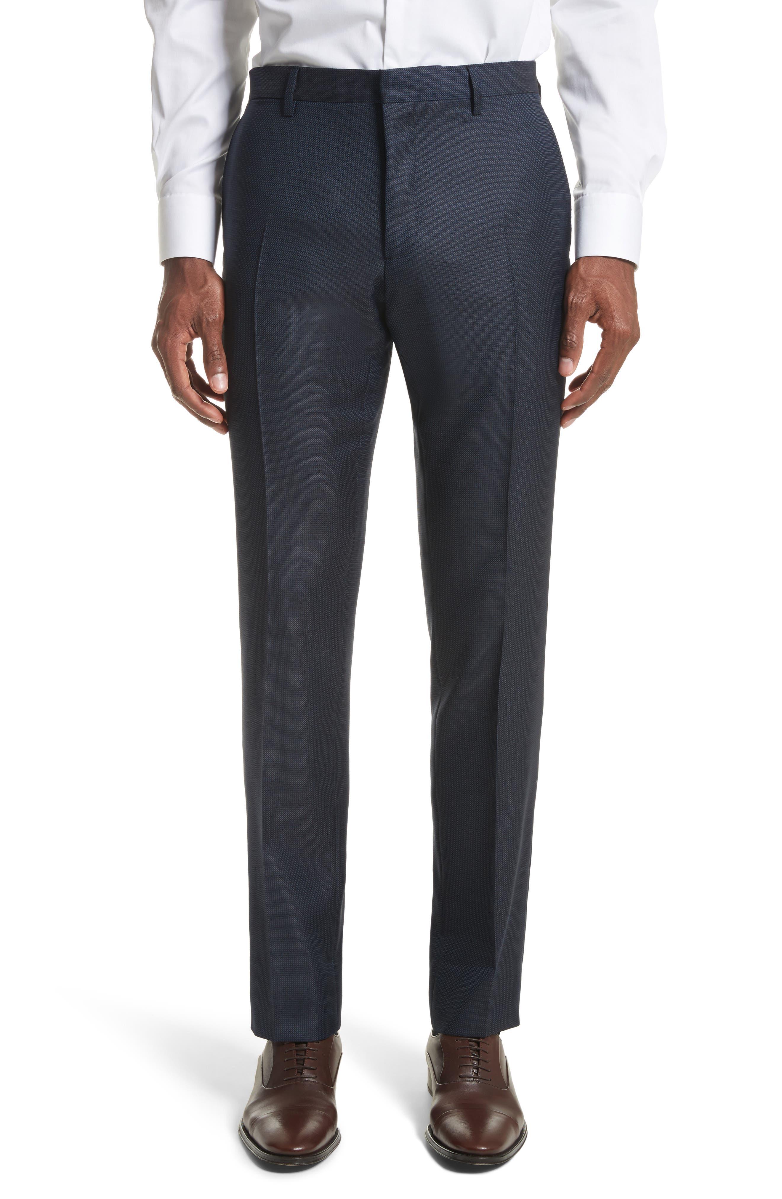 Alternate Image 6  - Burberry Millbank Trim Fit Wool & Silk Suit
