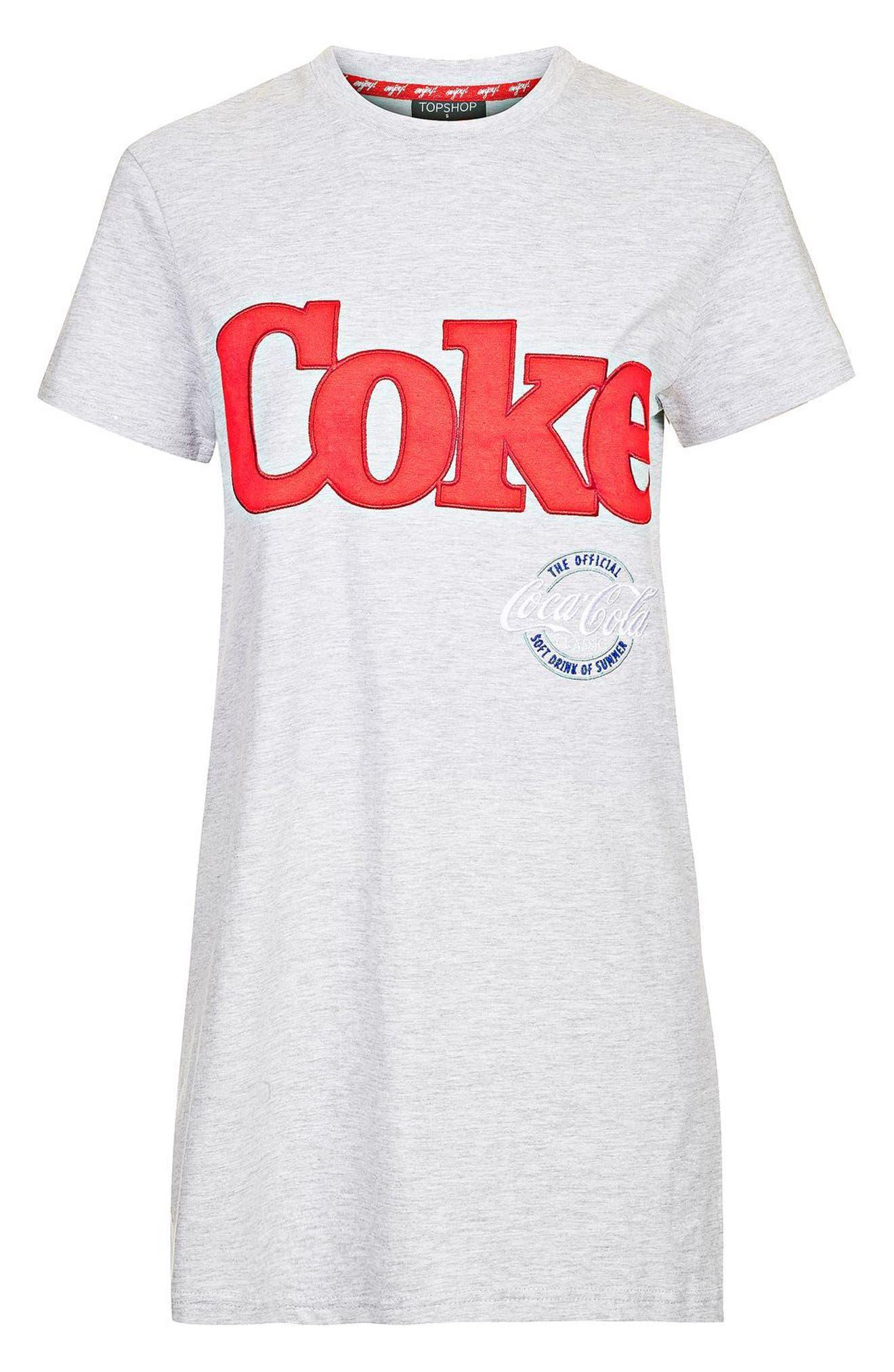 Alternate Image 4  - Topshop Coca Cola® Sleep T-Shirt