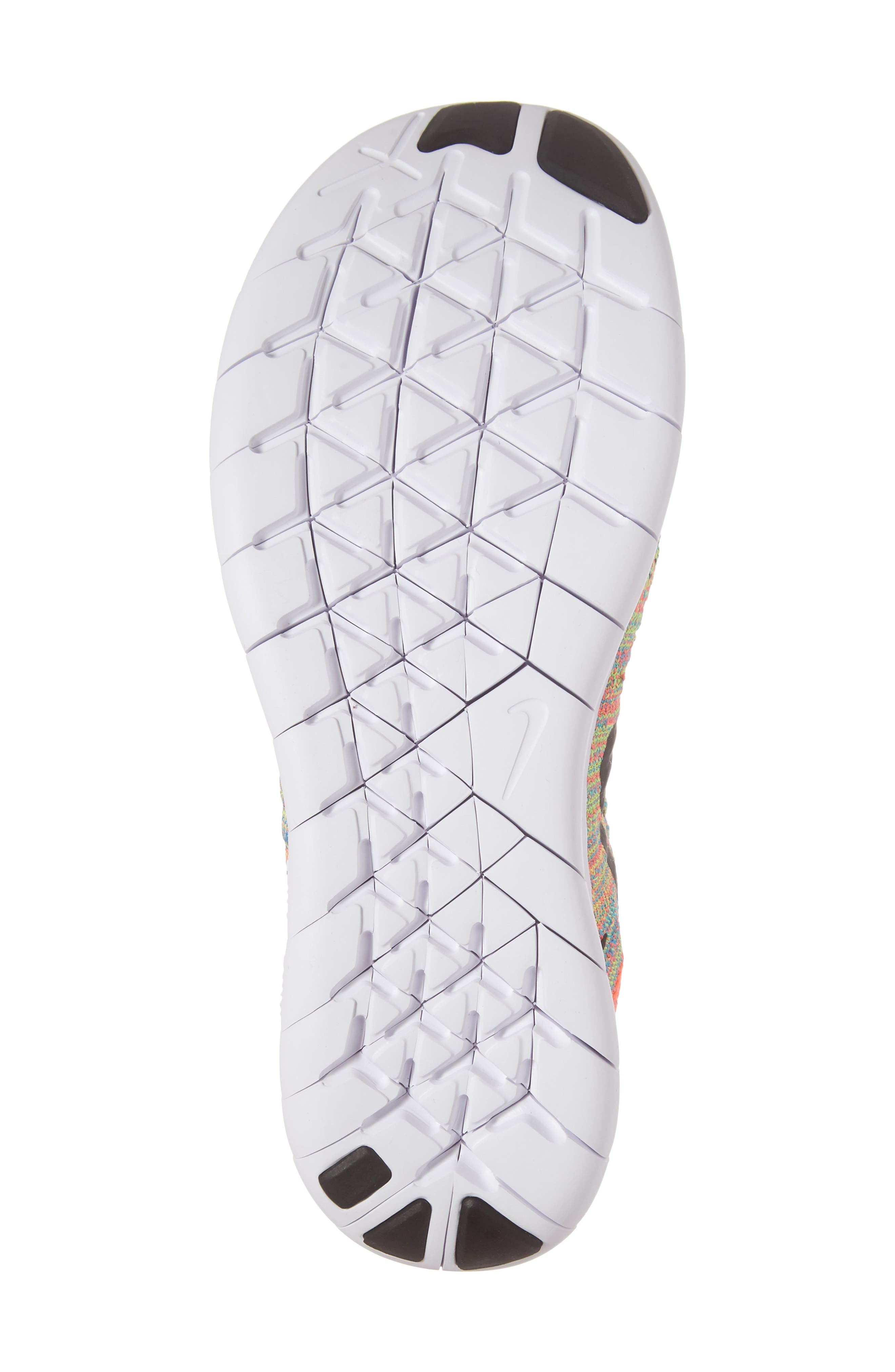 Alternate Image 6  - Nike Free RN Flyknit 2017 Running Shoe (Big Kid)