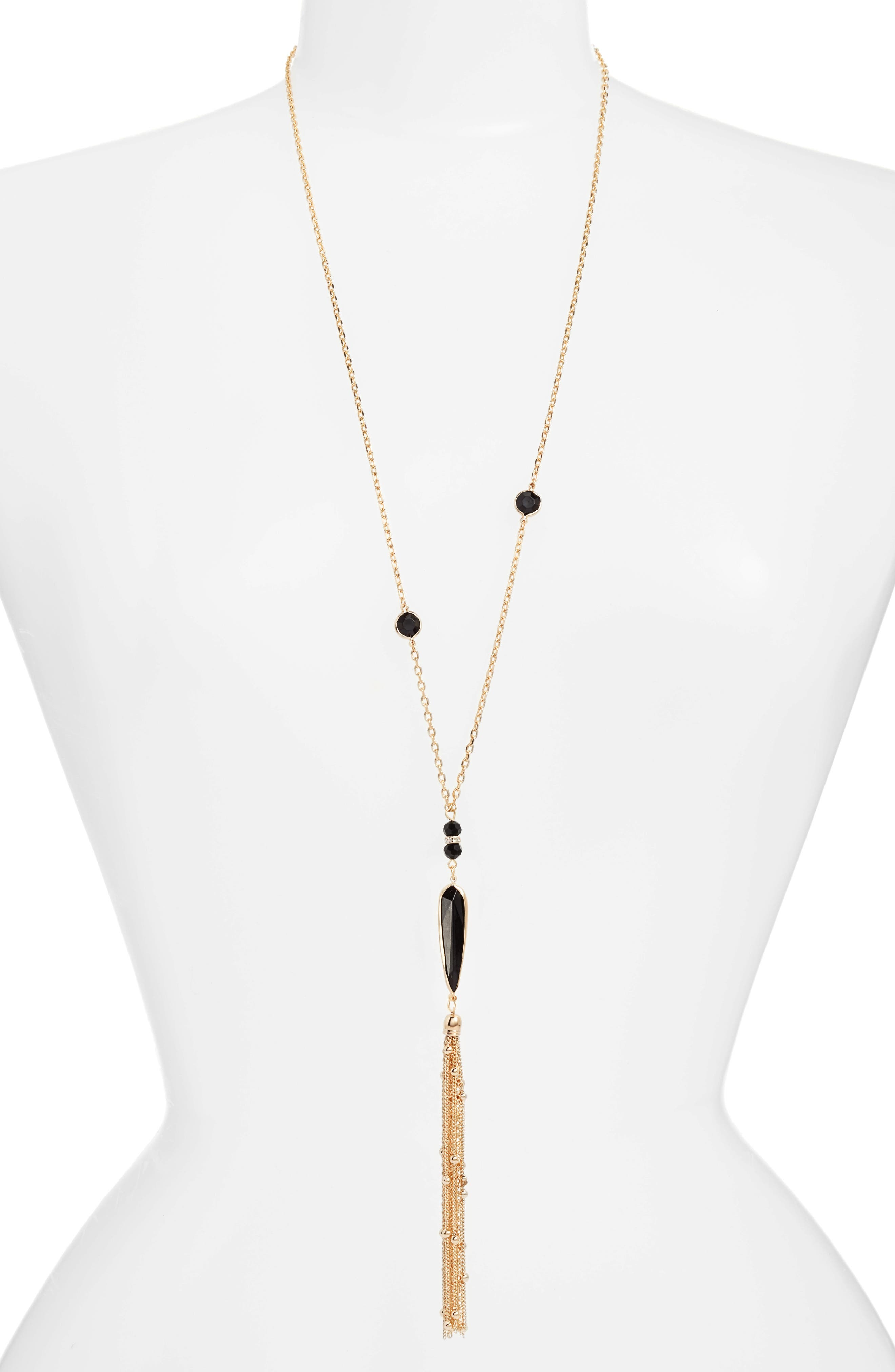Ettika Tassel Pendant Necklace