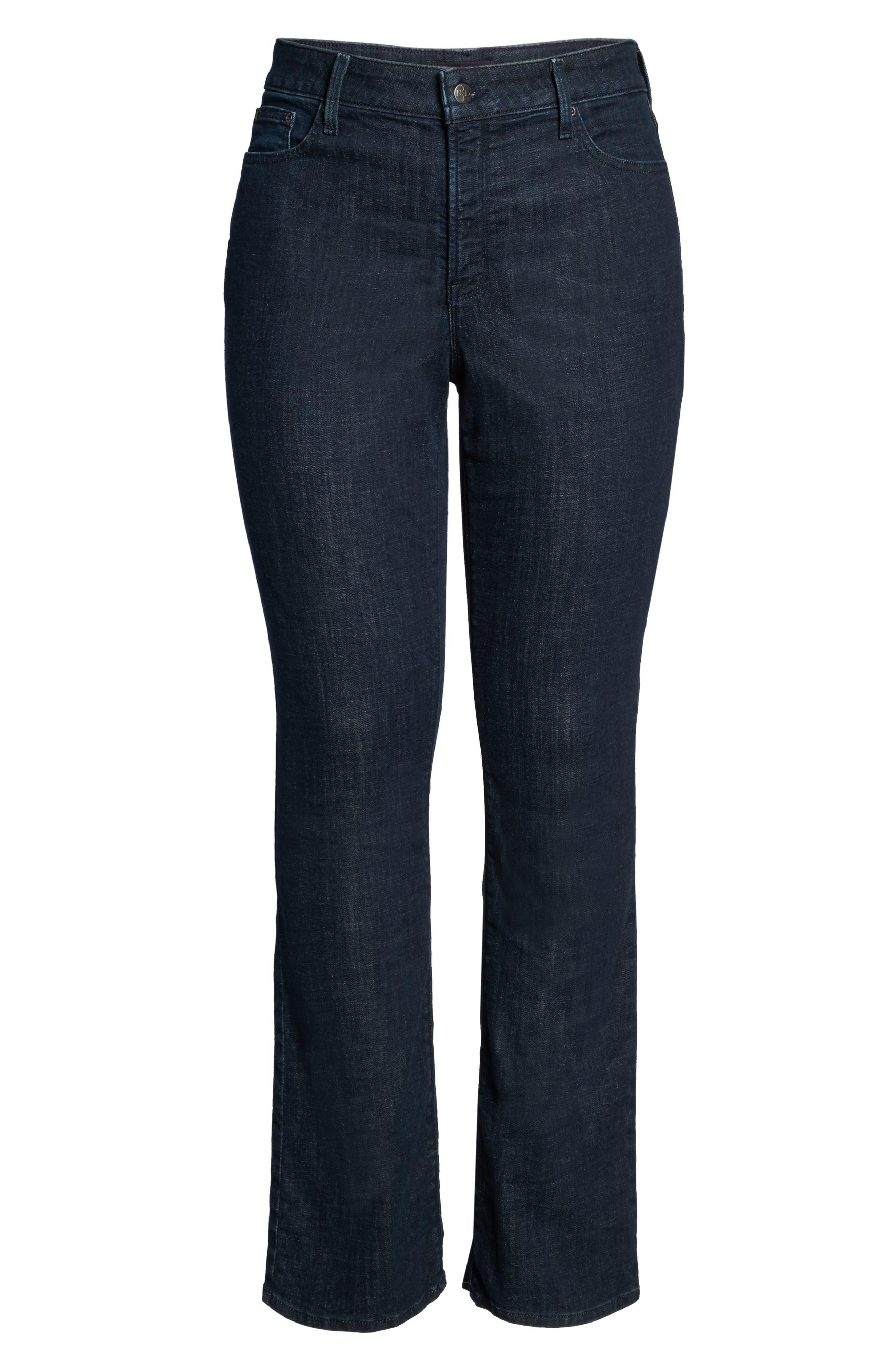 Alternate Image 6  - NYDJ Barbara Stretch Bootcut Jeans (Plus Size)