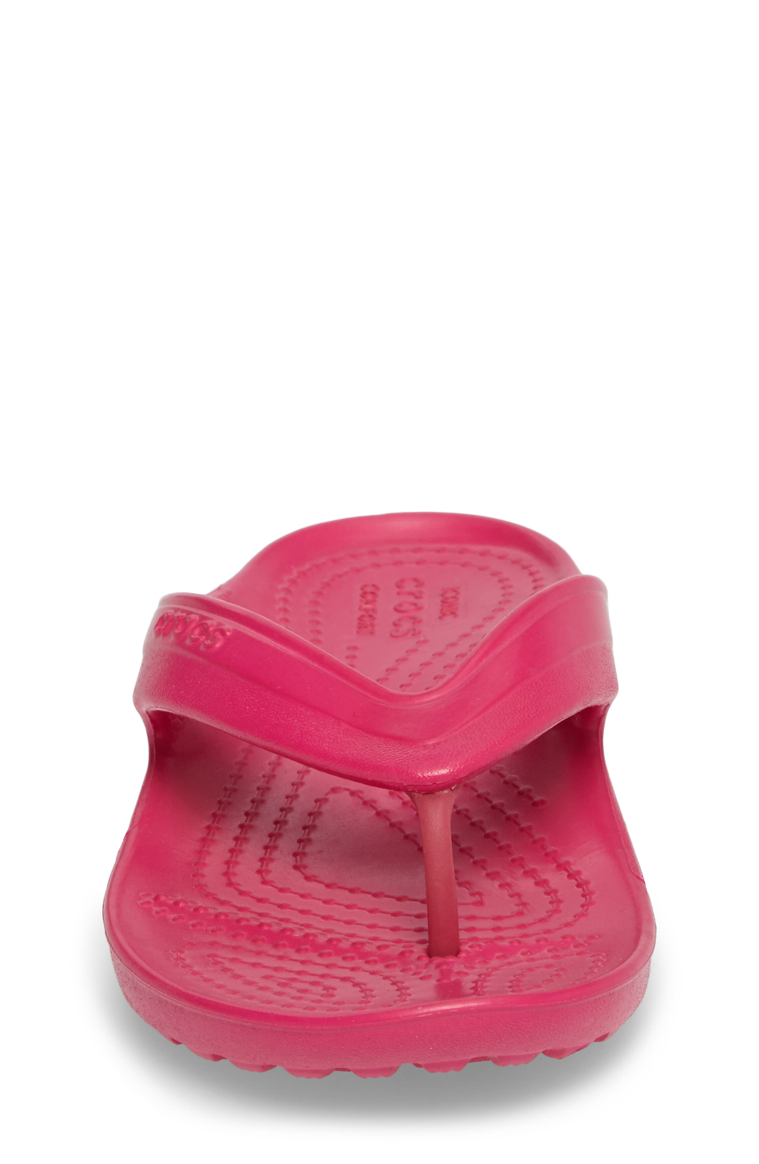 Classic Flip Flop,                             Alternate thumbnail 4, color,                             Candy Pink