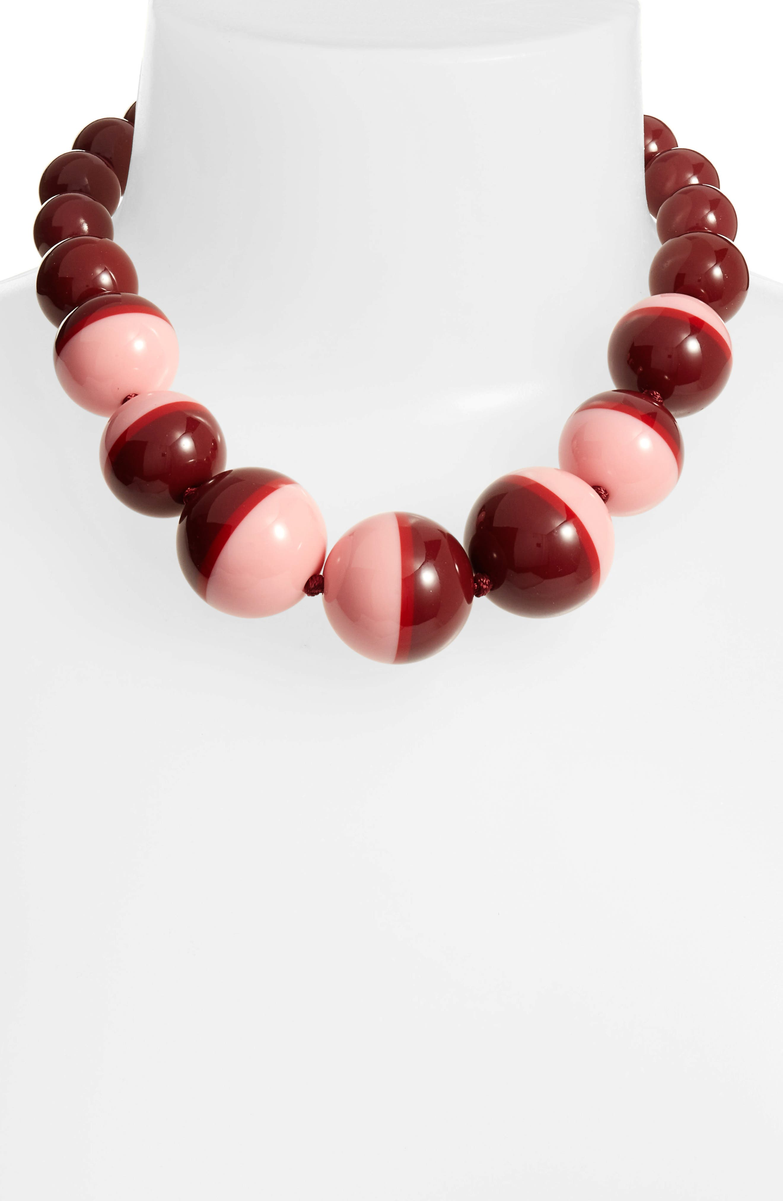 in a flash collar necklace,                         Main,                         color, Berry Multi