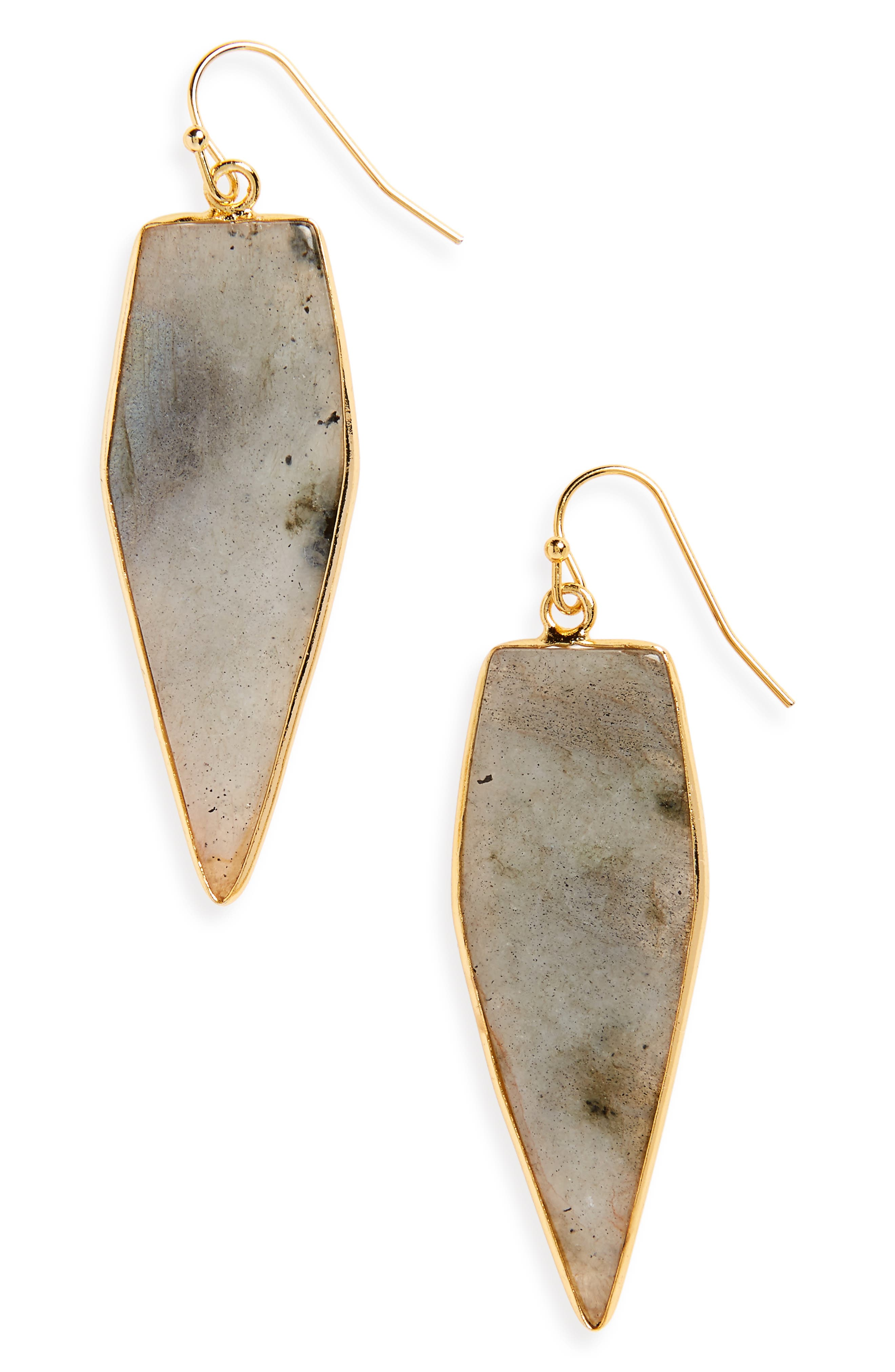 PANACEA Labradorite Drop Earrings