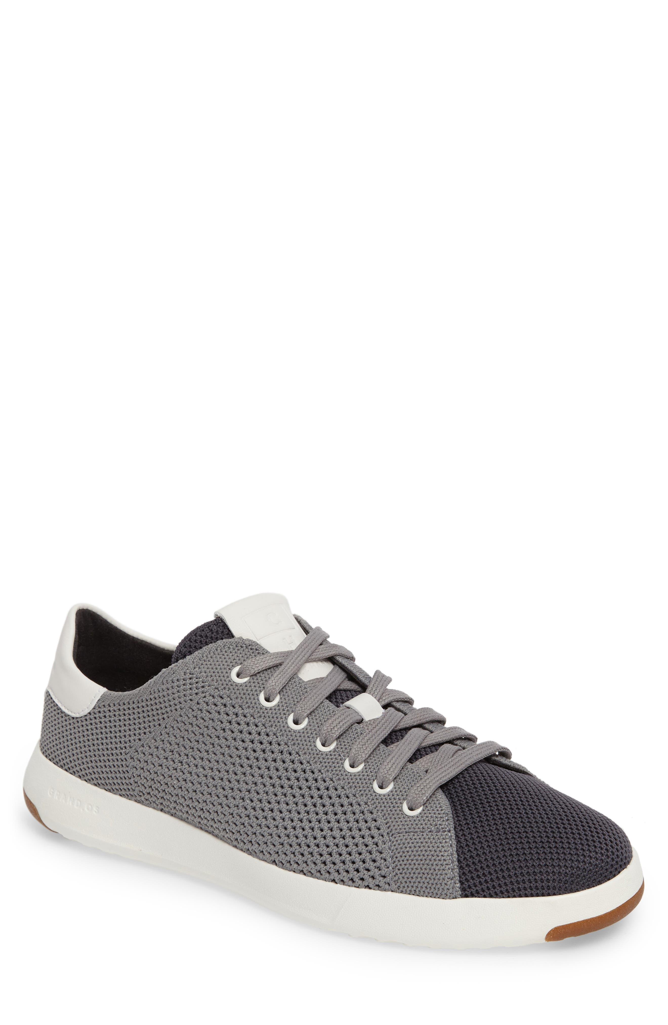 GrandPrø Stitchlite Tennis Sneaker,                             Main thumbnail 1, color,                             Magnet Grey Fabric