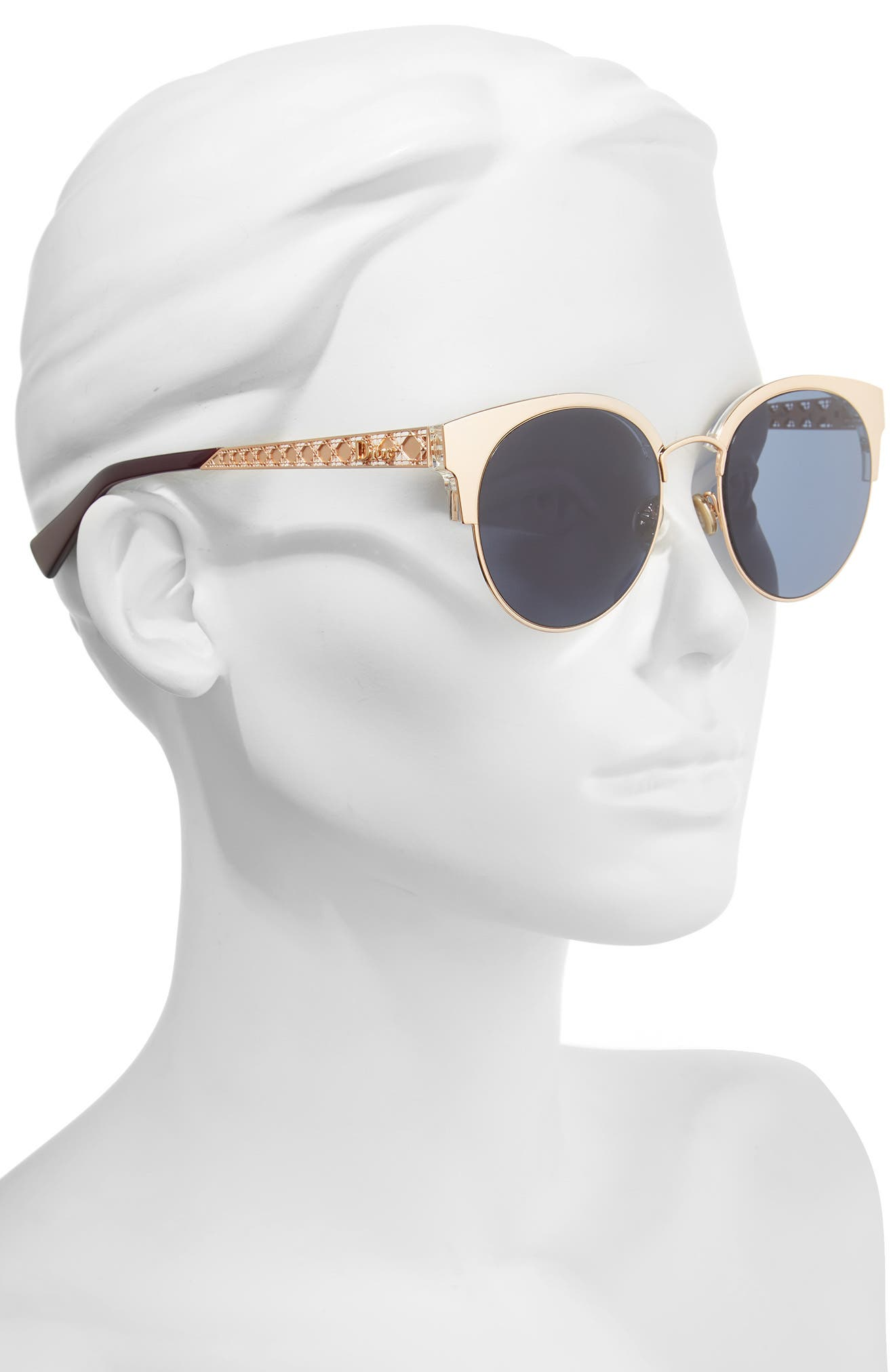 Alternate Image 2  - Dior Diorama Mini 54mm Mirrored Lens Cat Eye Sunglasses