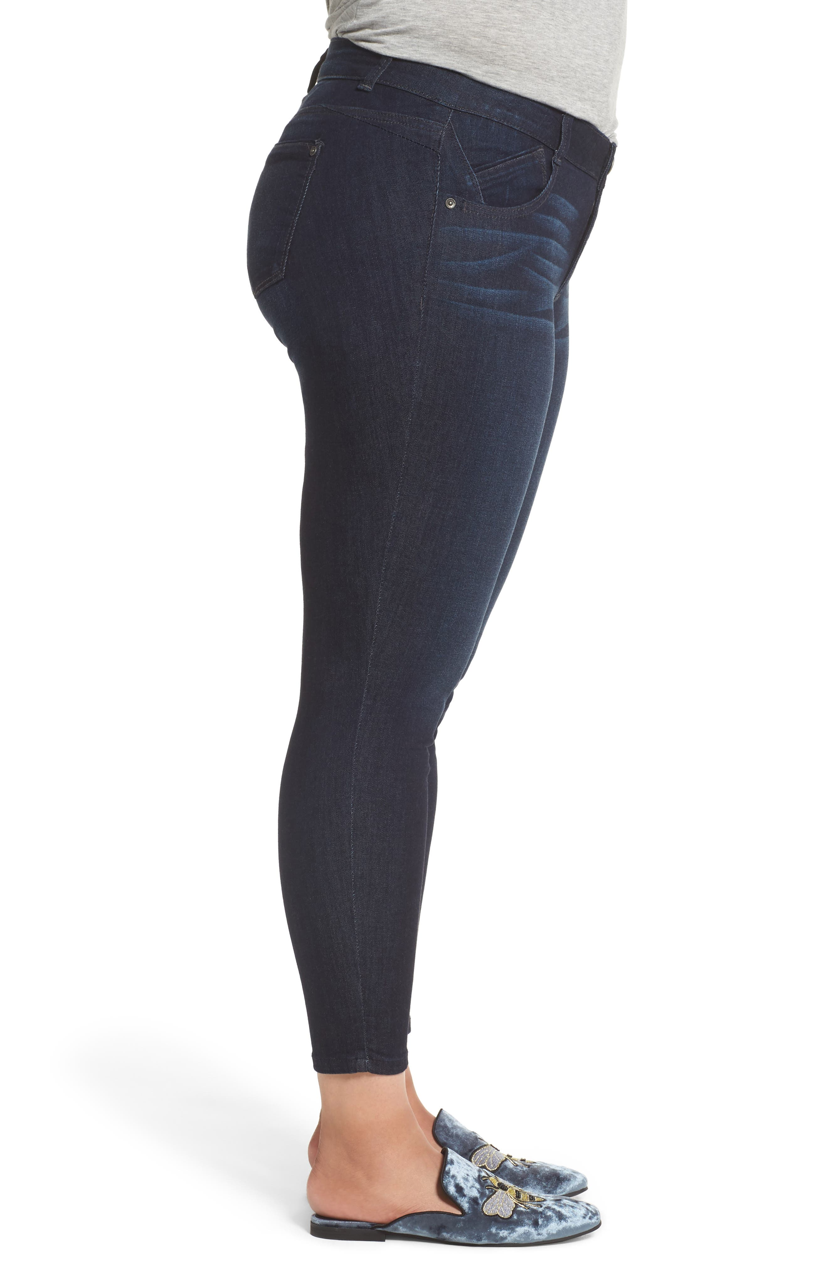 Alternate Image 3  - Wit & Wisdom Ab-solution Ankle Skimmer Jeans (Plus Size) (Nordstrom Exclusive)