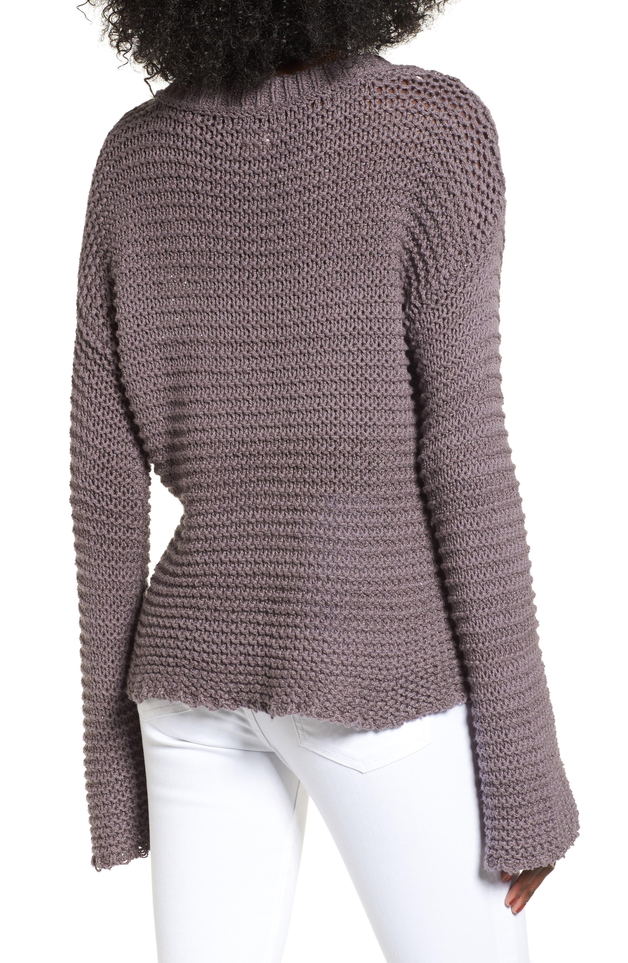 Hillary Sweater,                             Alternate thumbnail 2, color,                             Rabbitt