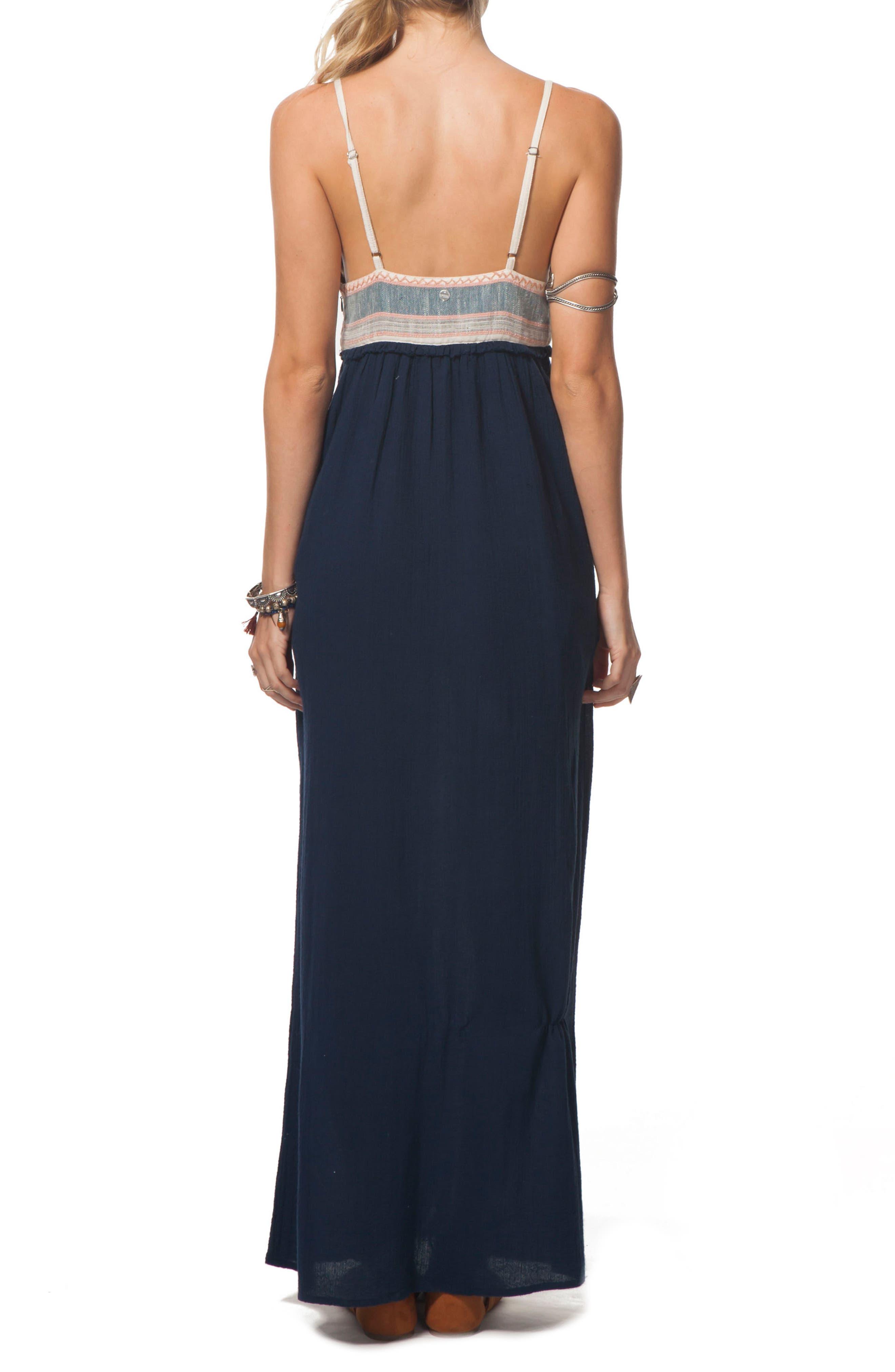 Alternate Image 2  - Rip Curl Beach Comber Maxi Dress