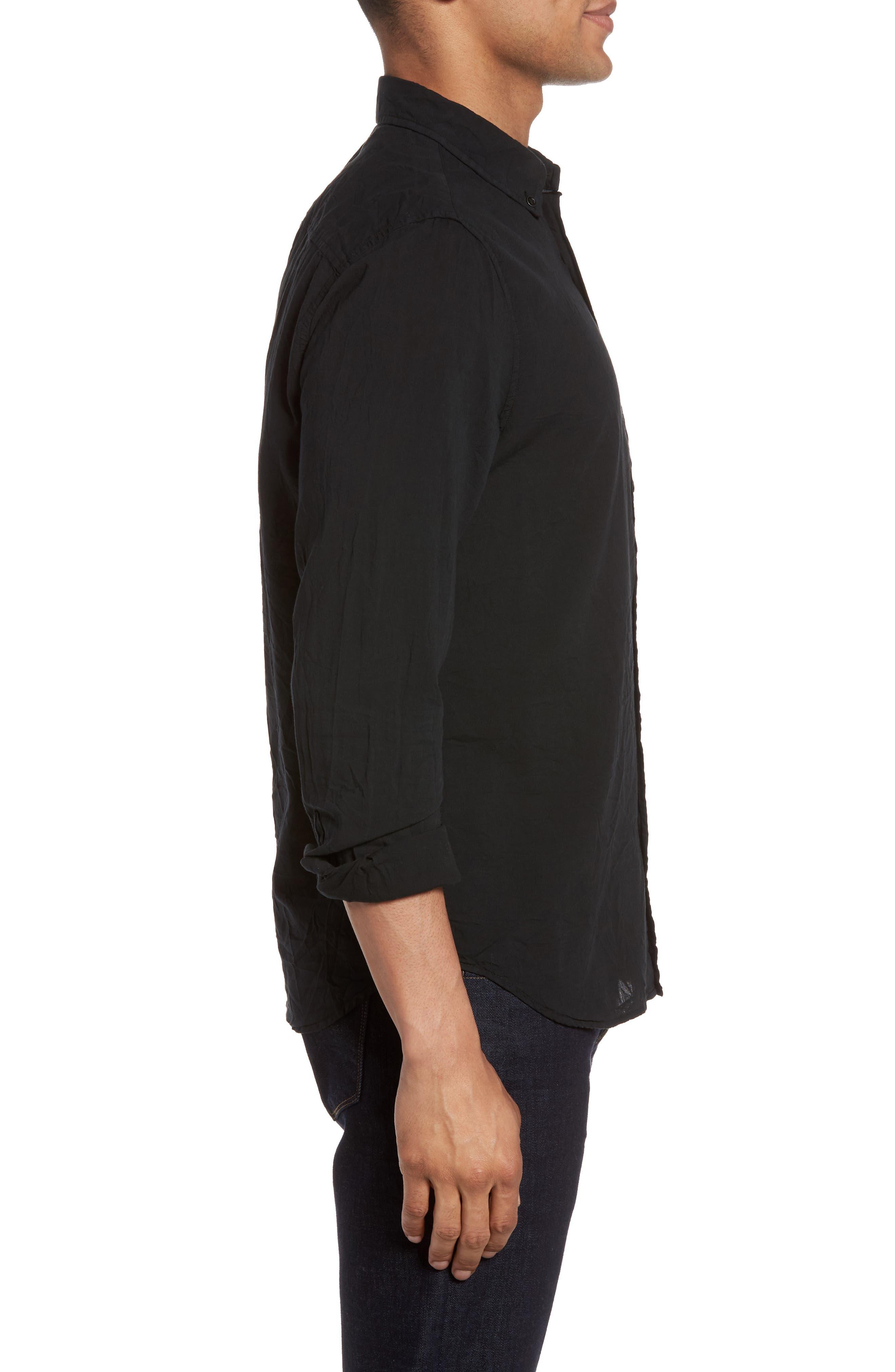 Alternate Image 3  - AG Grady Slim Fit Organic Cotton Sport Shirt