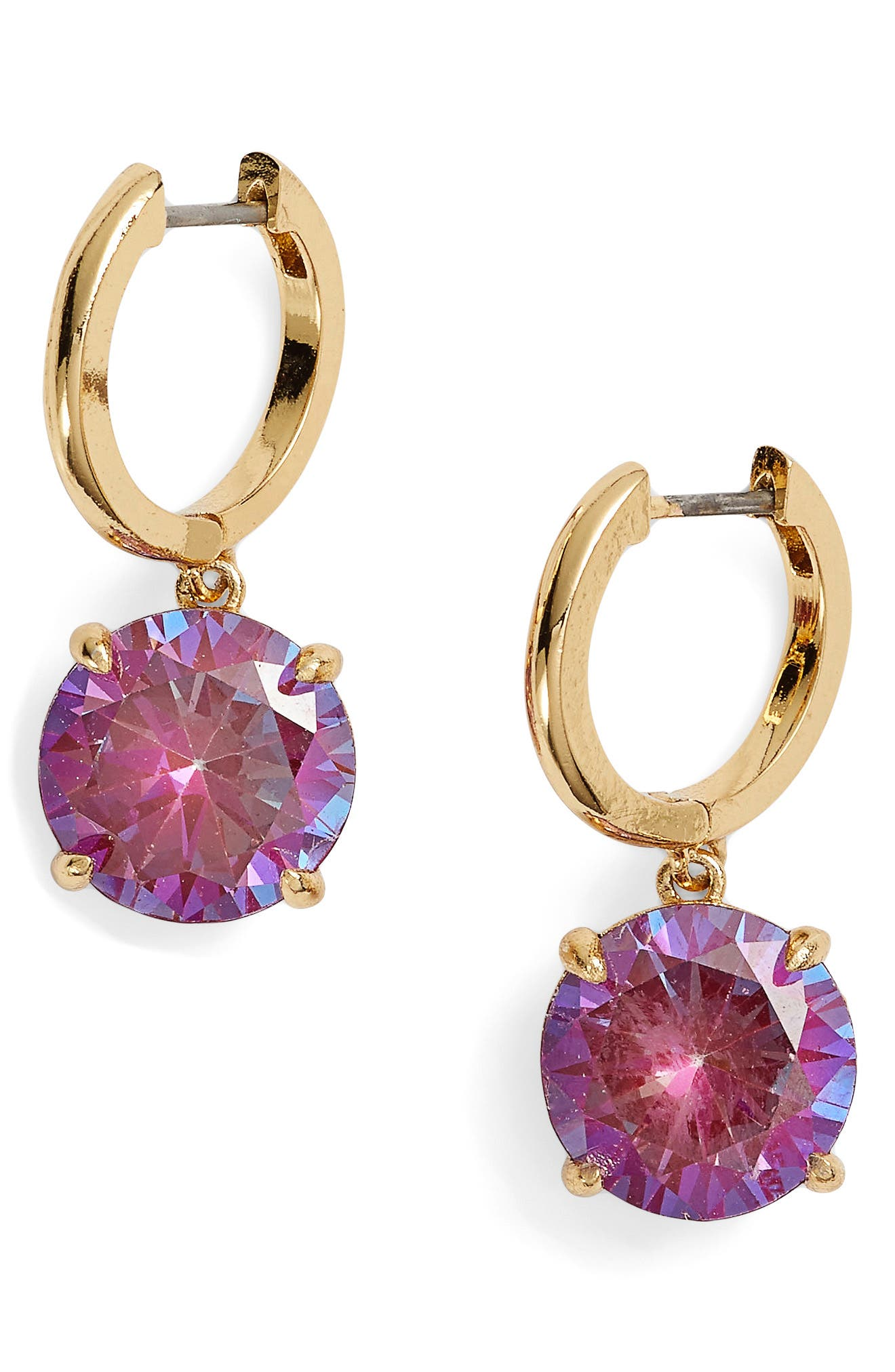 bright idea drop earrings,                         Main,                         color, Berry
