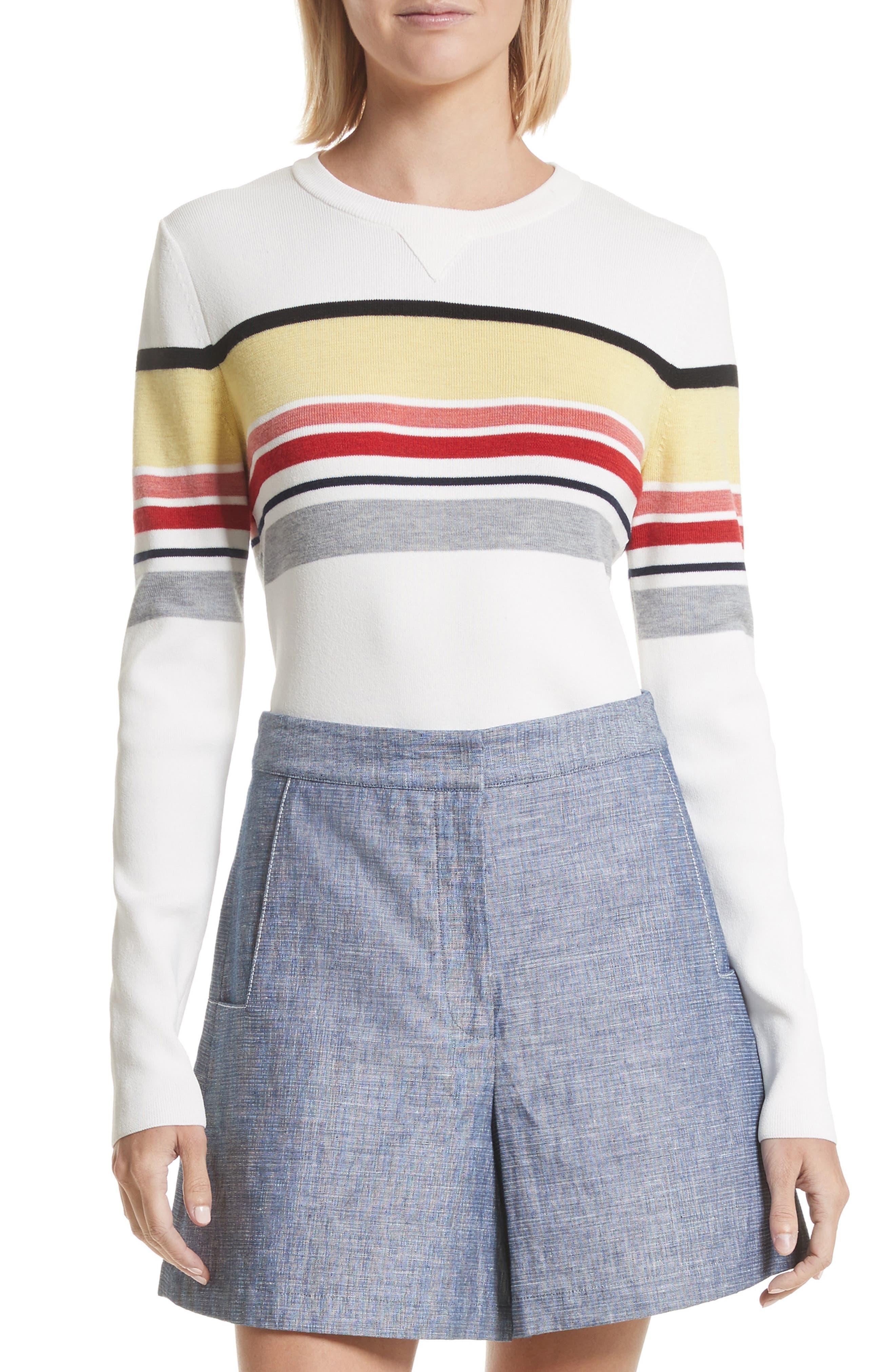 GREY Jason Wu Stripe Sweater