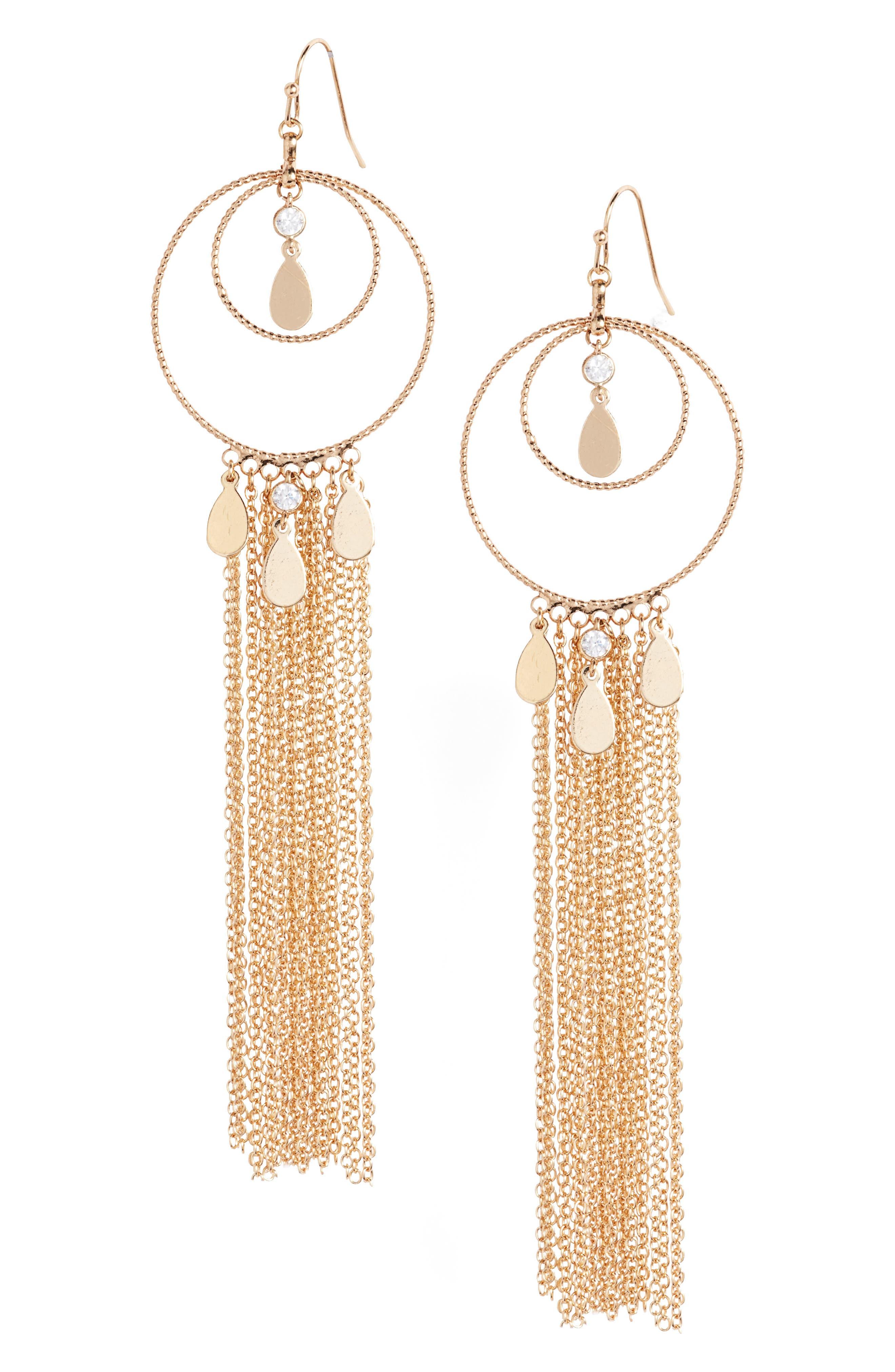 Ettika Carissa Drop Earrings