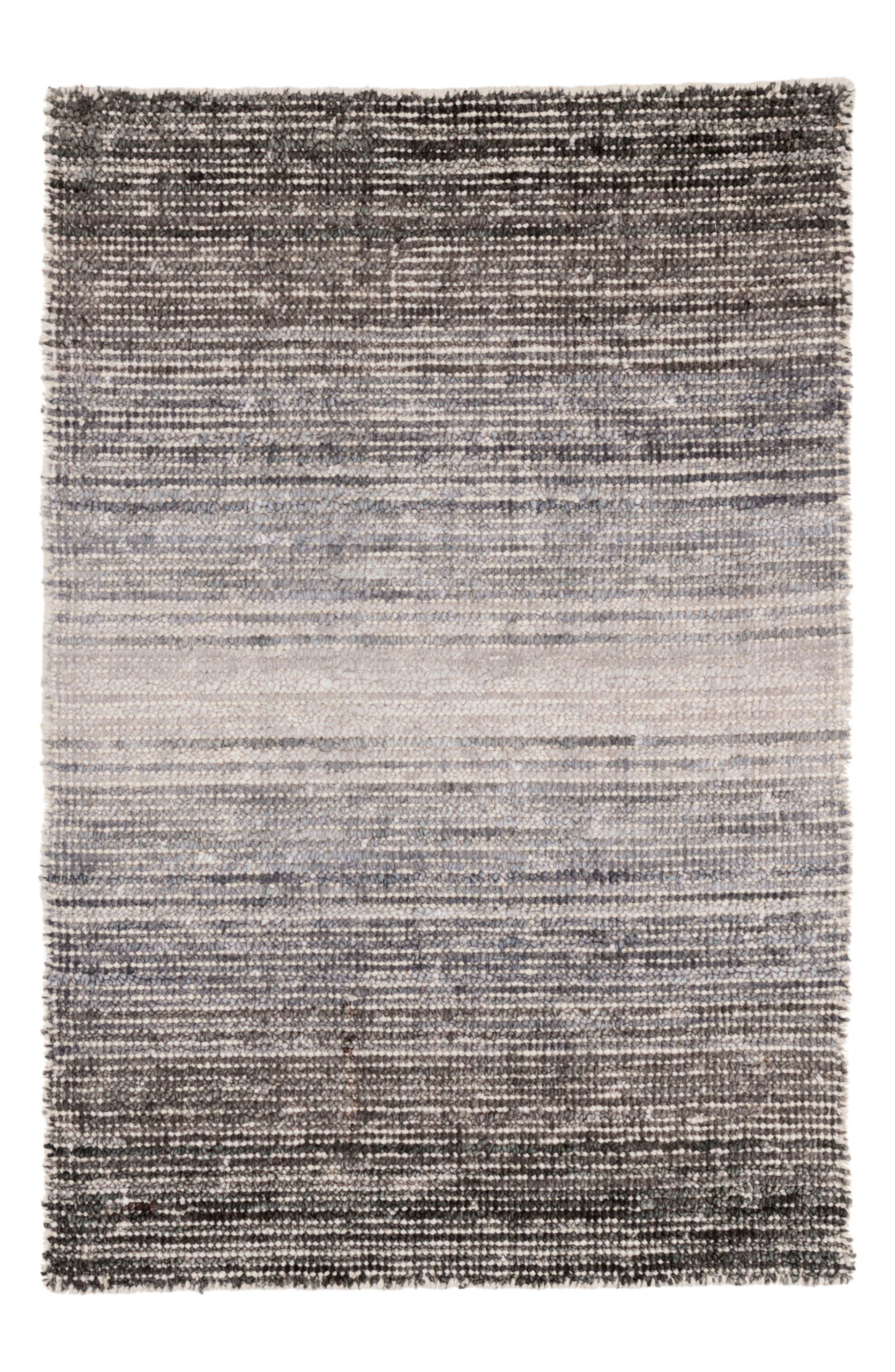 Grey Moon Handwoven Rug,                             Main thumbnail 1, color,                             Grey