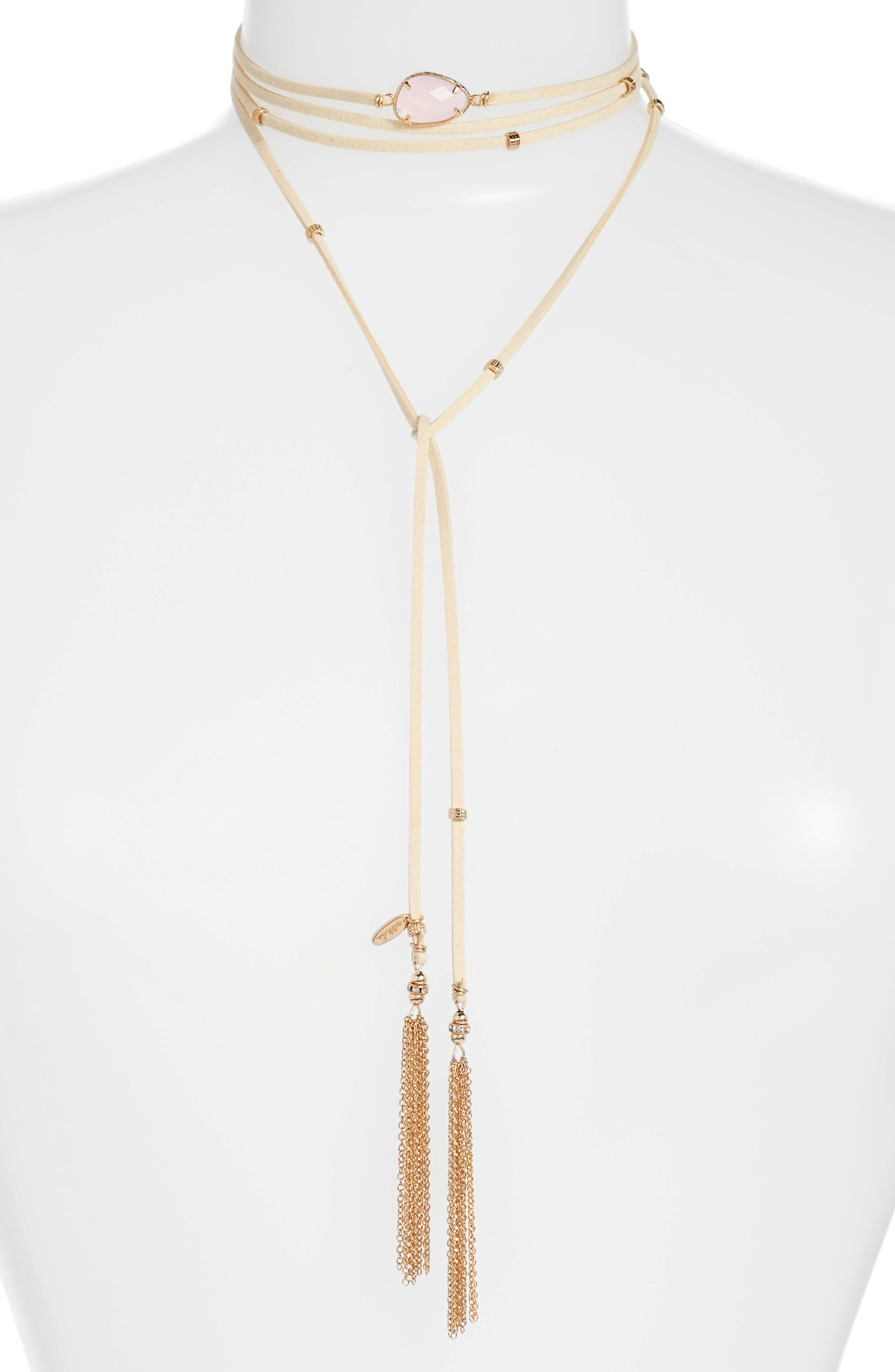 Ettika Wrap Choker Necklace