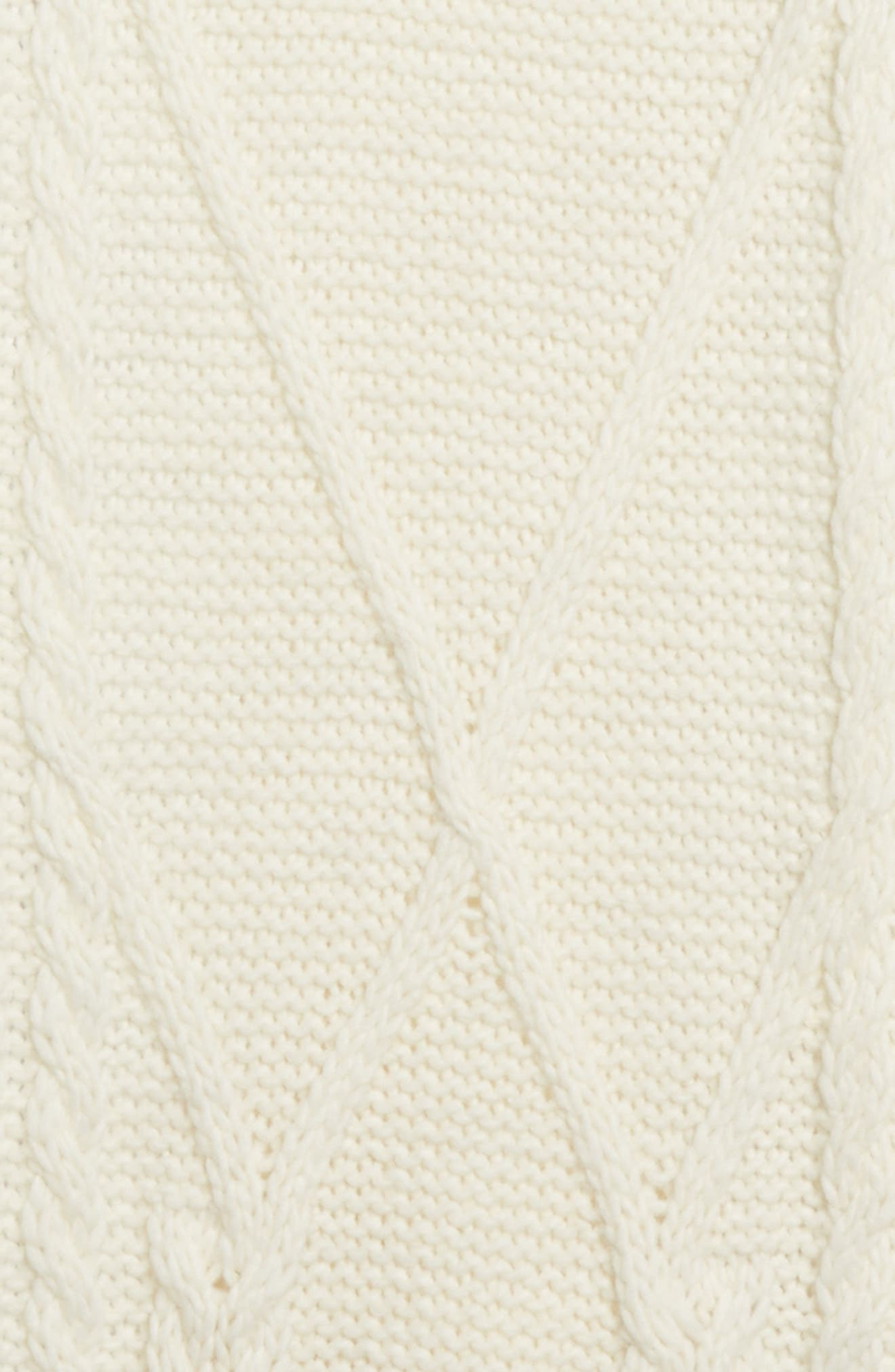 Scarpa Wool Blend Scarf,                             Alternate thumbnail 2, color,                             Ivory