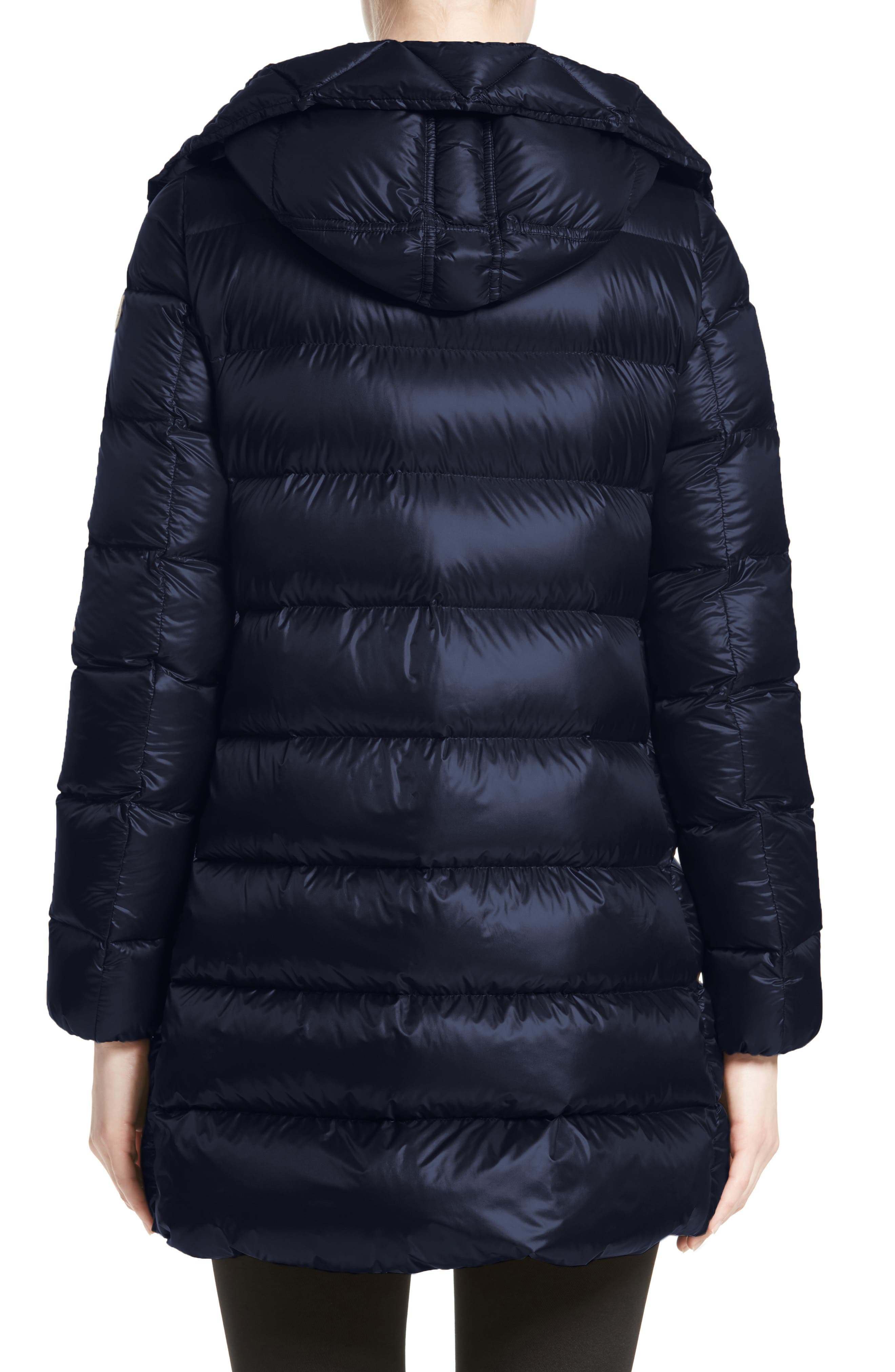 Alternate Image 2  - Moncler 'Suyen' Water Resistant Hooded Down Puffer Coat