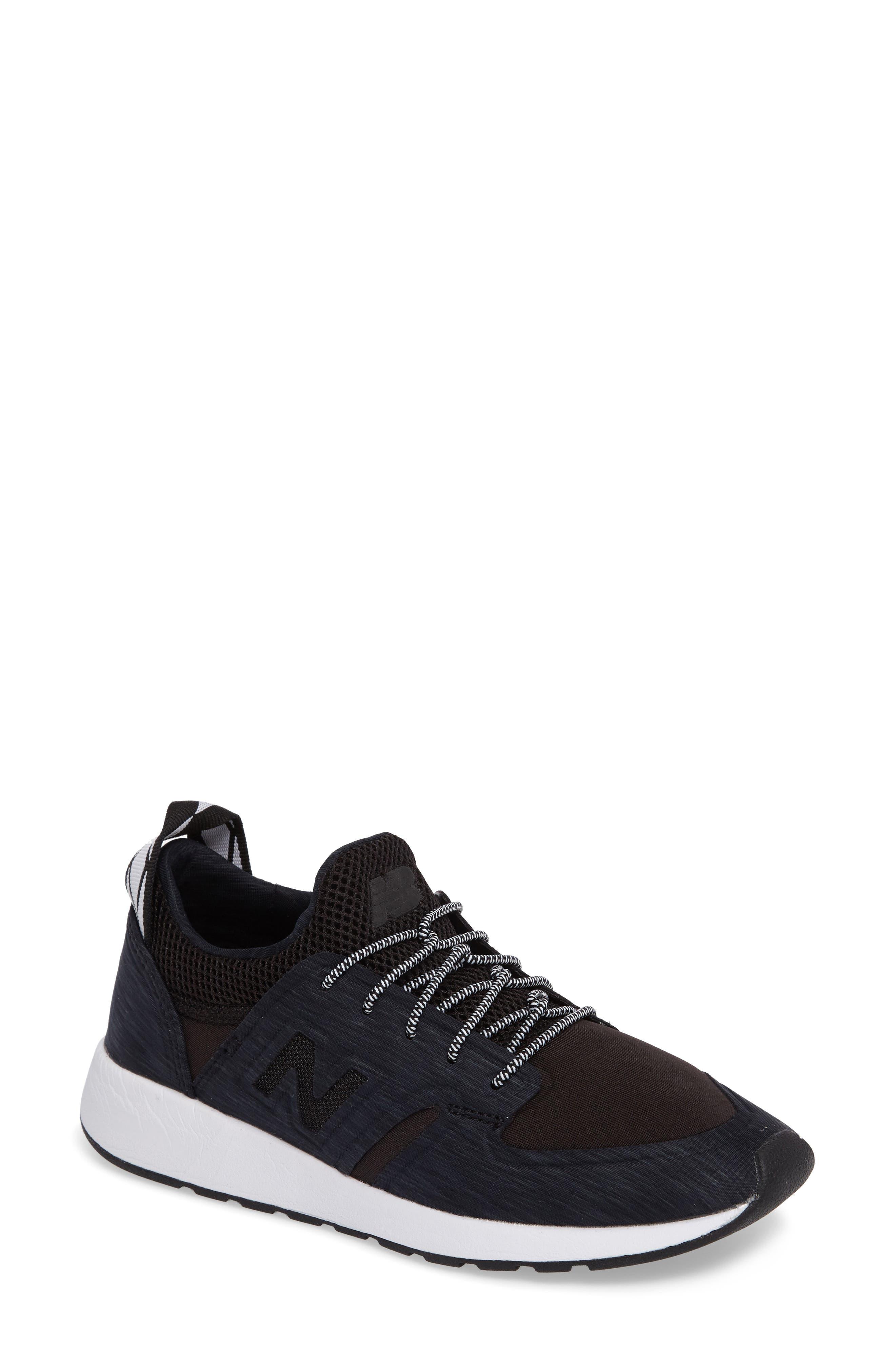Sporty Style 420 Sneaker,                             Main thumbnail 1, color,                             Black