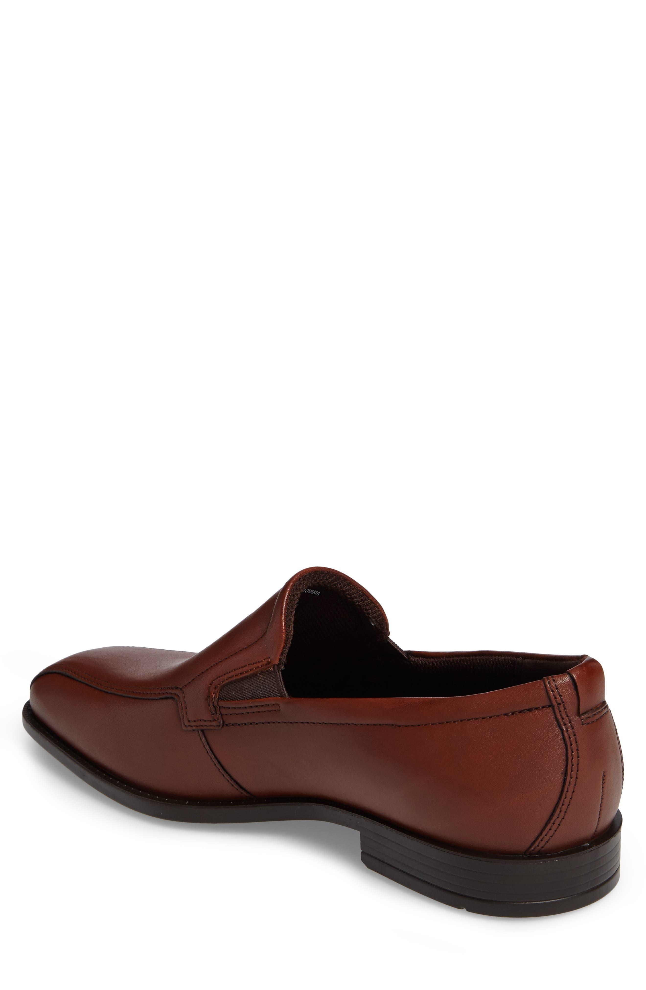 Edinburgh Venetian Loafer,                             Alternate thumbnail 2, color,                             Cognac Leather