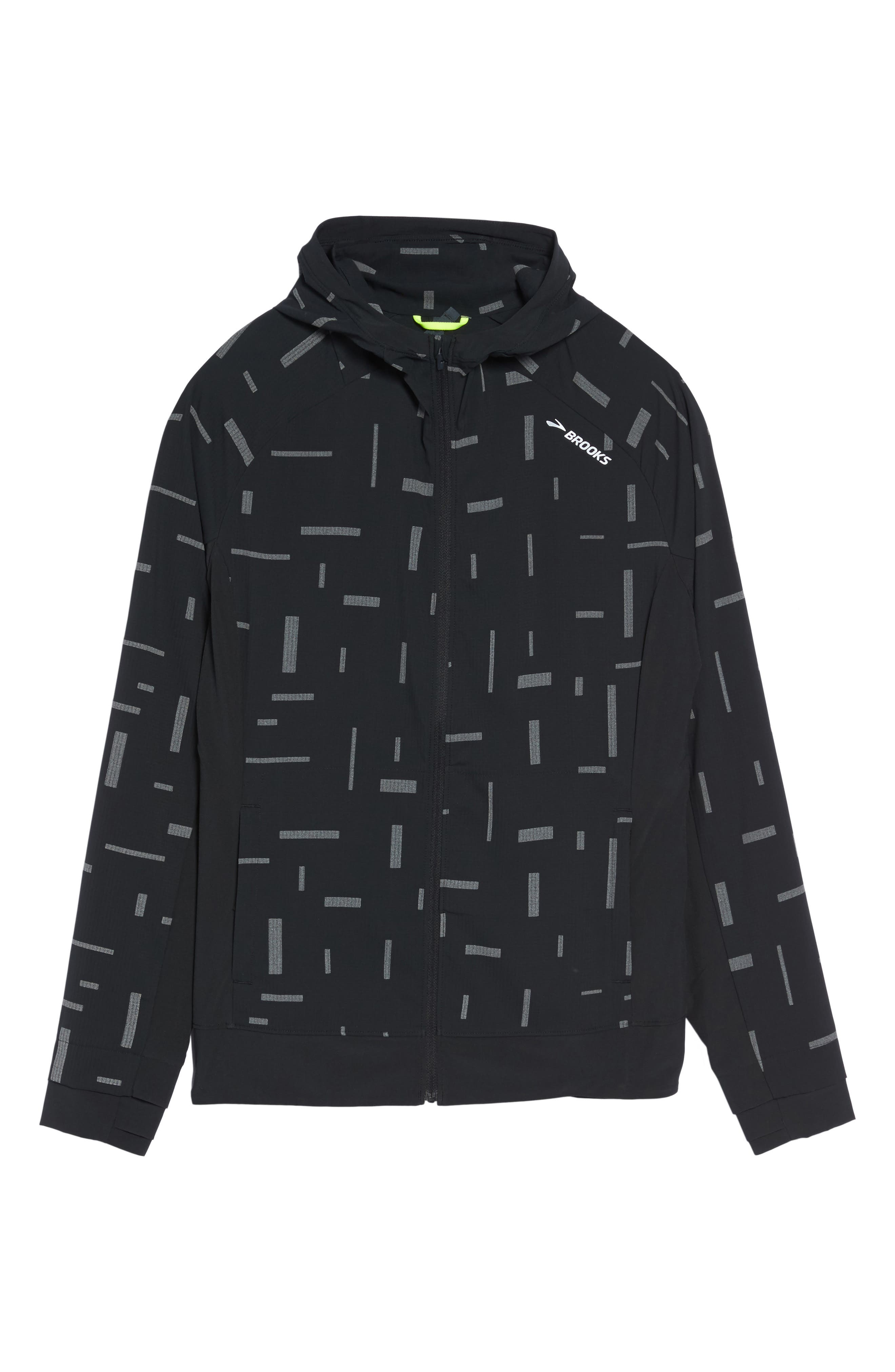 Canopy SE Reflective Running Jacket,                             Alternate thumbnail 6, color,                             Comet Reflective