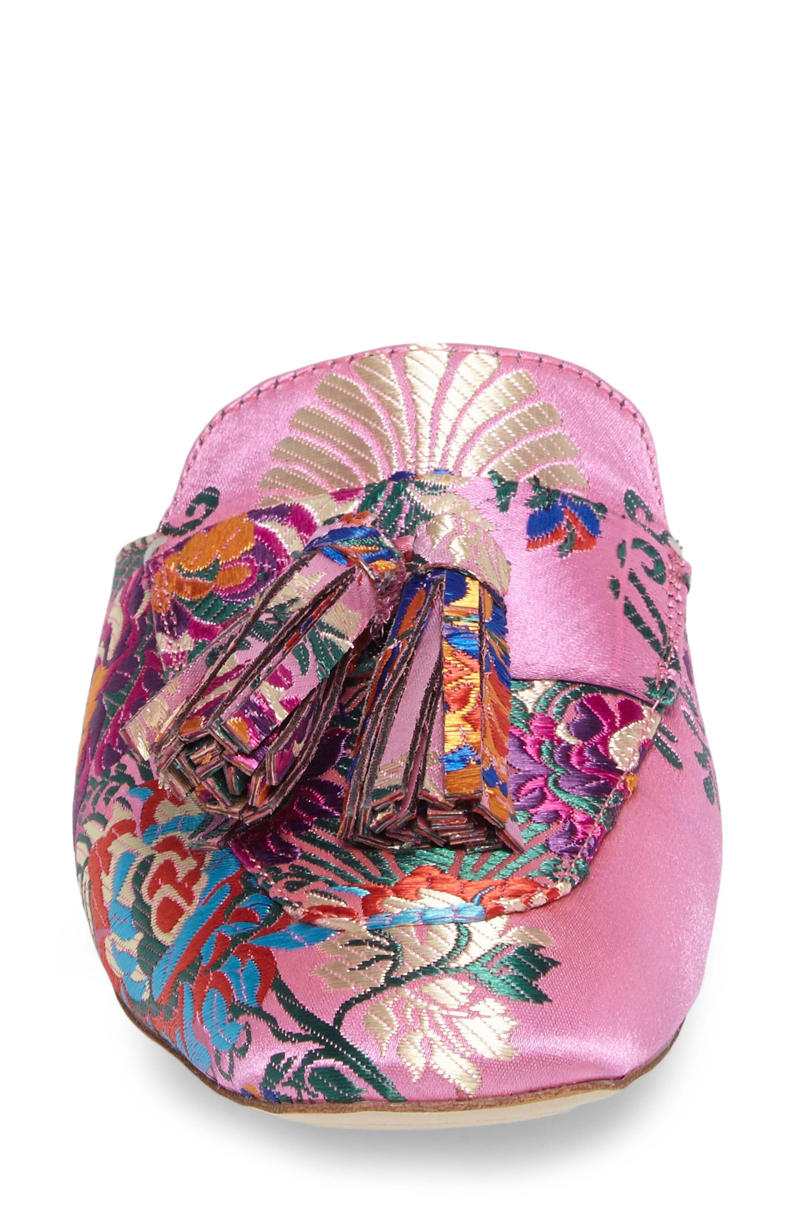 Alternate Image 4  - Jeffrey Campbell Ravis Tassel Loafer Mule (Women)