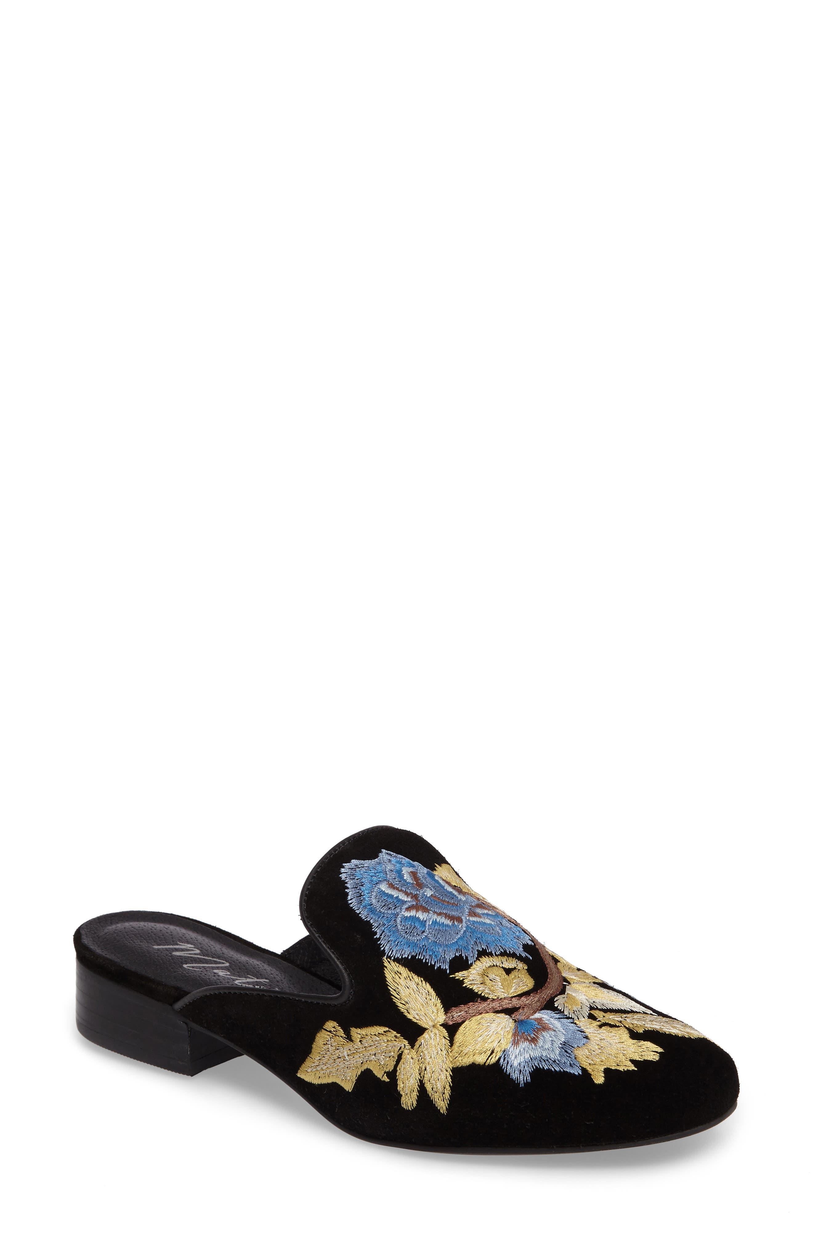 Matisse Bianca Embroidered Mule (Women)